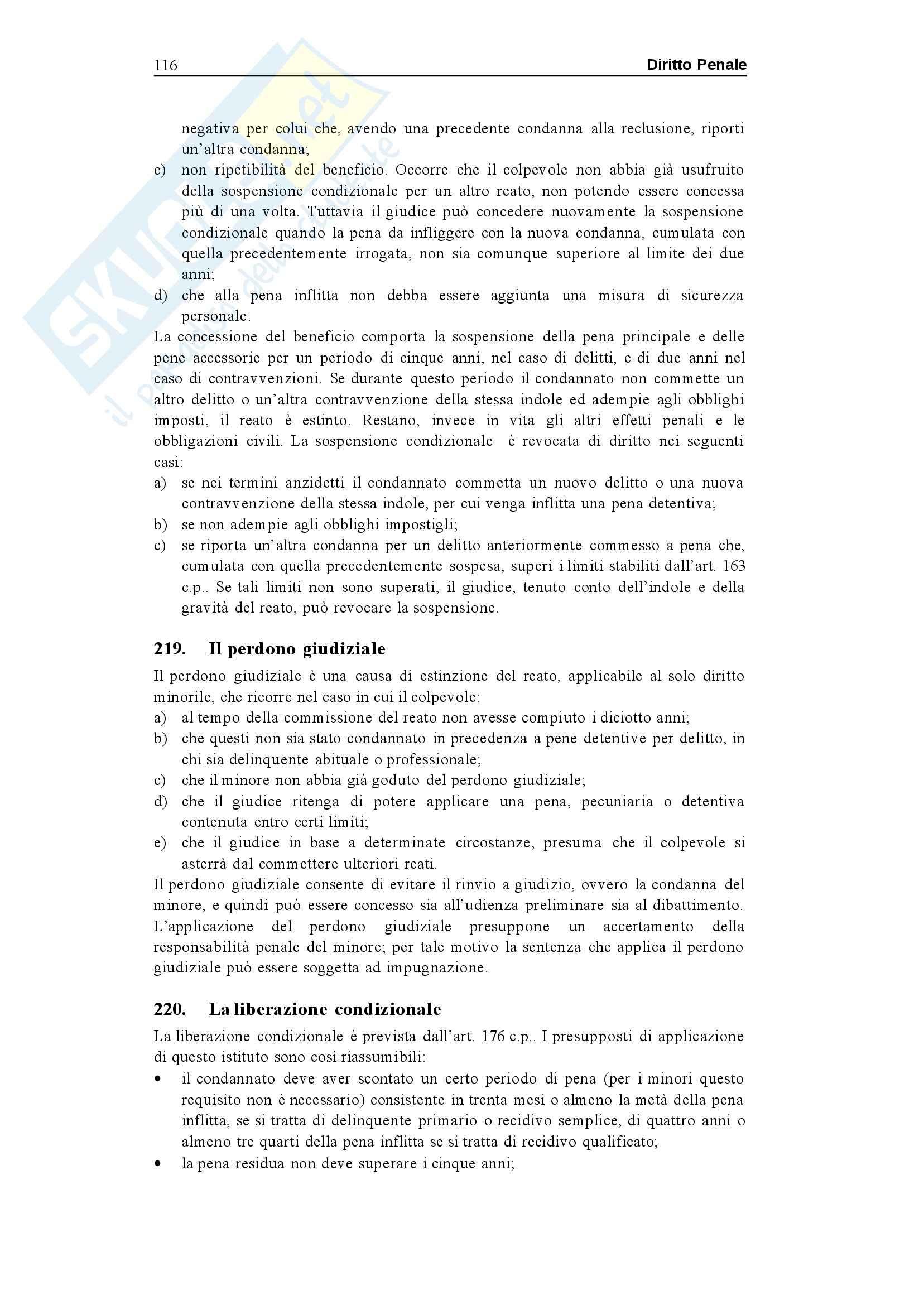 Riassunto esame Diritto Penale, prof. Sgubbi, libro consigliato Diritto Penale, Fiandaca, Musco Pag. 116