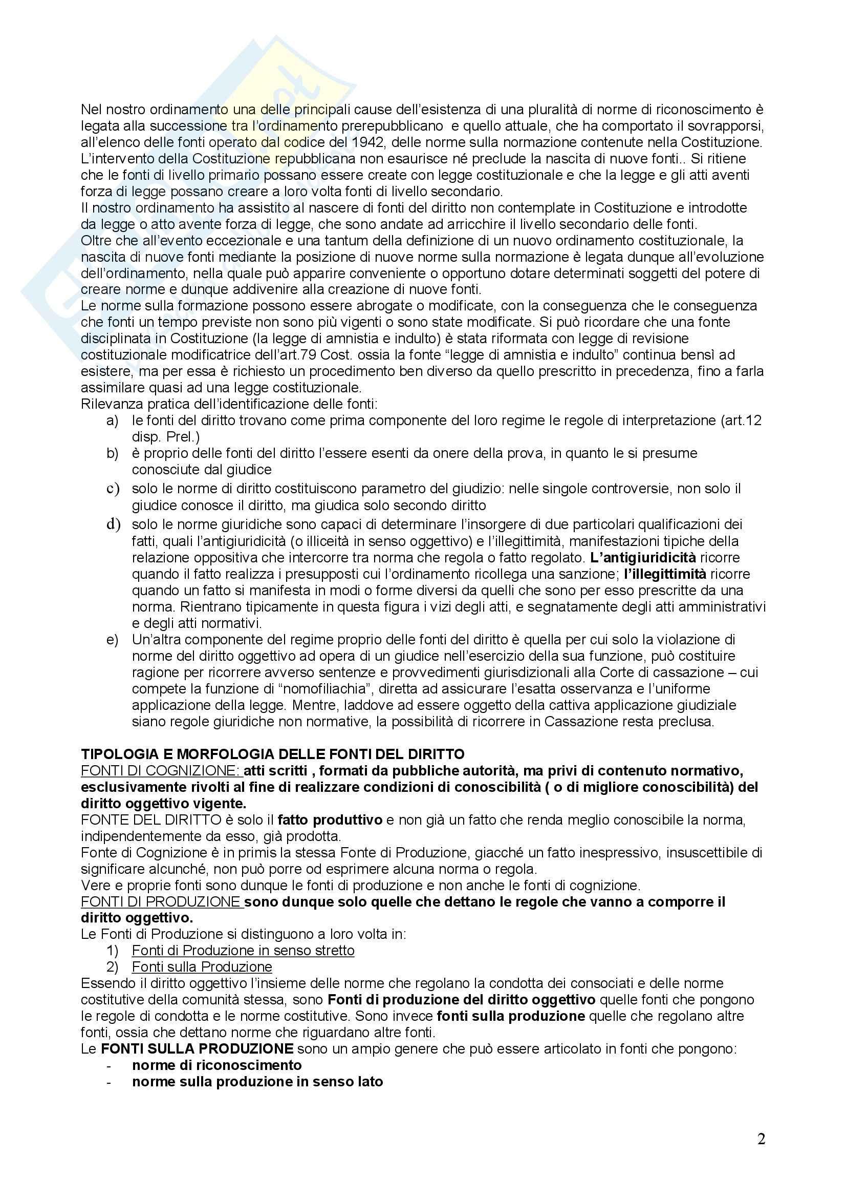 Riassunto esame Diritto costituzionale, prof. Modugno, libro consigliato Principi di diritto costituzionale Pag. 2