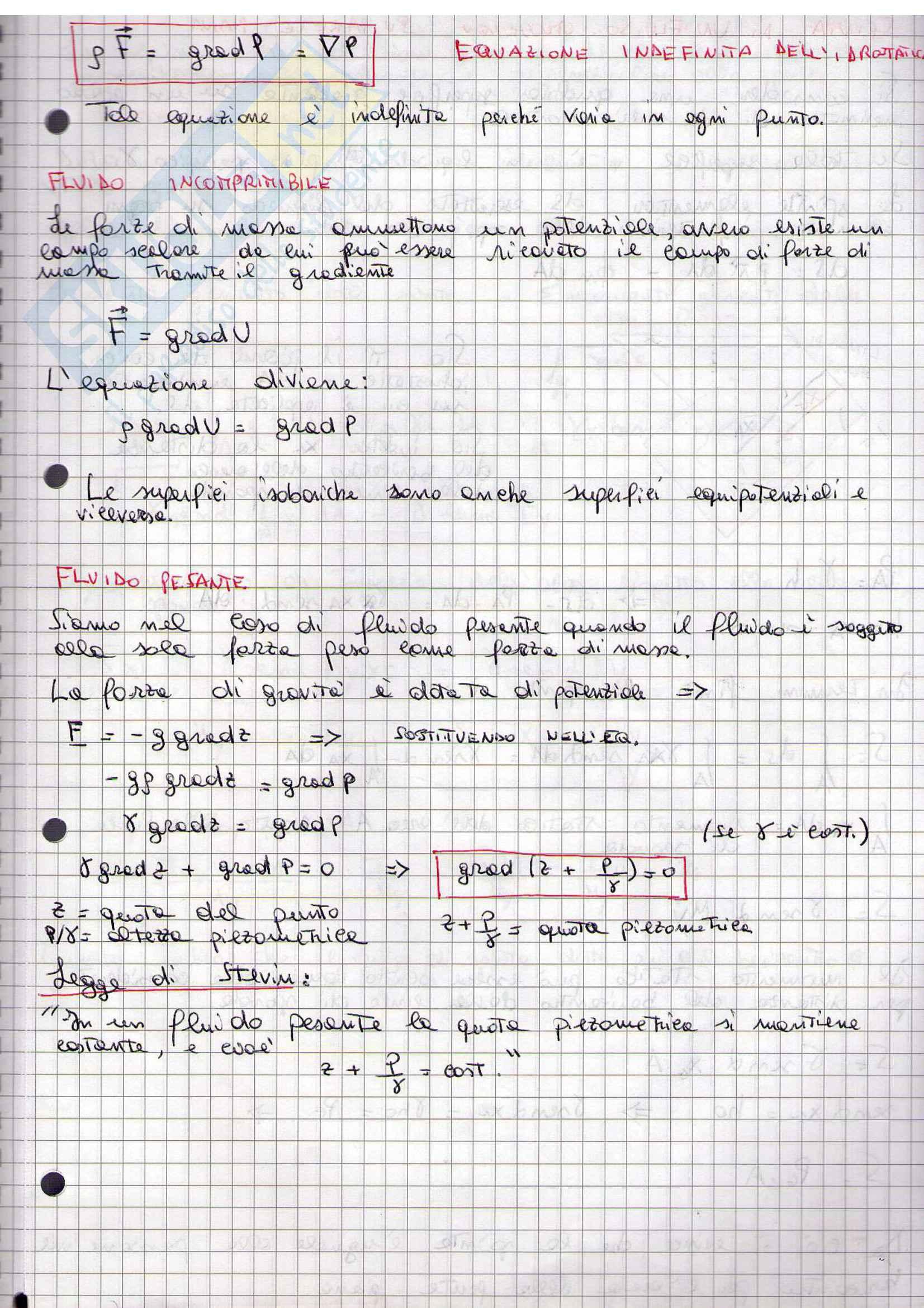 Idraulica - Appunti Pag. 6