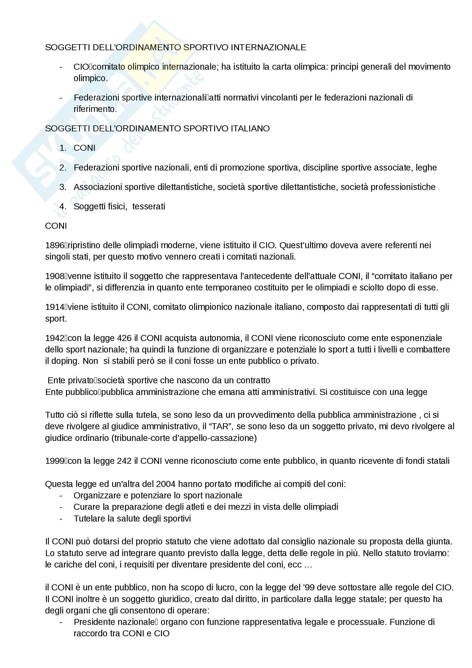 Diritto sport Pag. 2