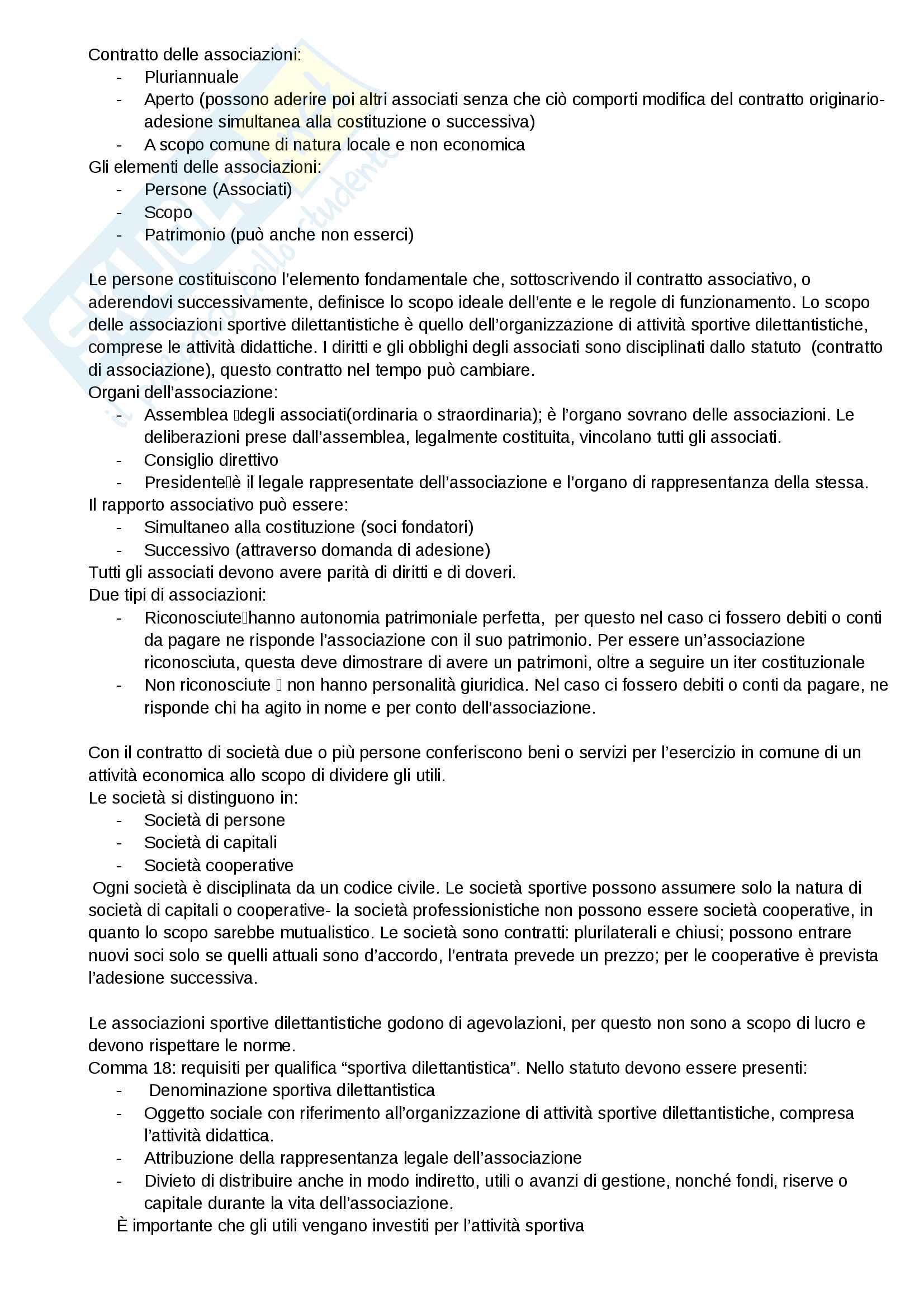 Diritto sport Pag. 6