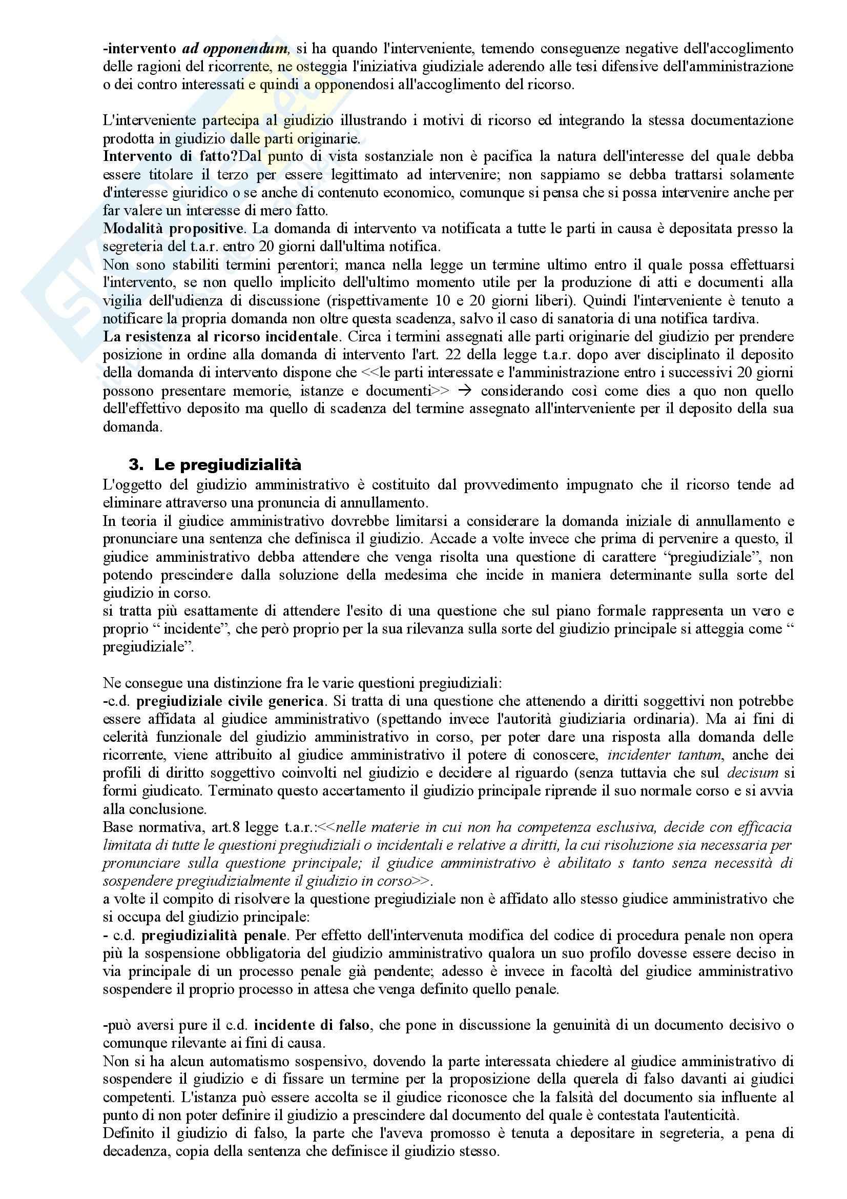 Riassunto esame Diritto Amministrativo, prof. Apicella, libro consigliato Sistema di Giustizia Amministrativa, Saitta Pag. 16
