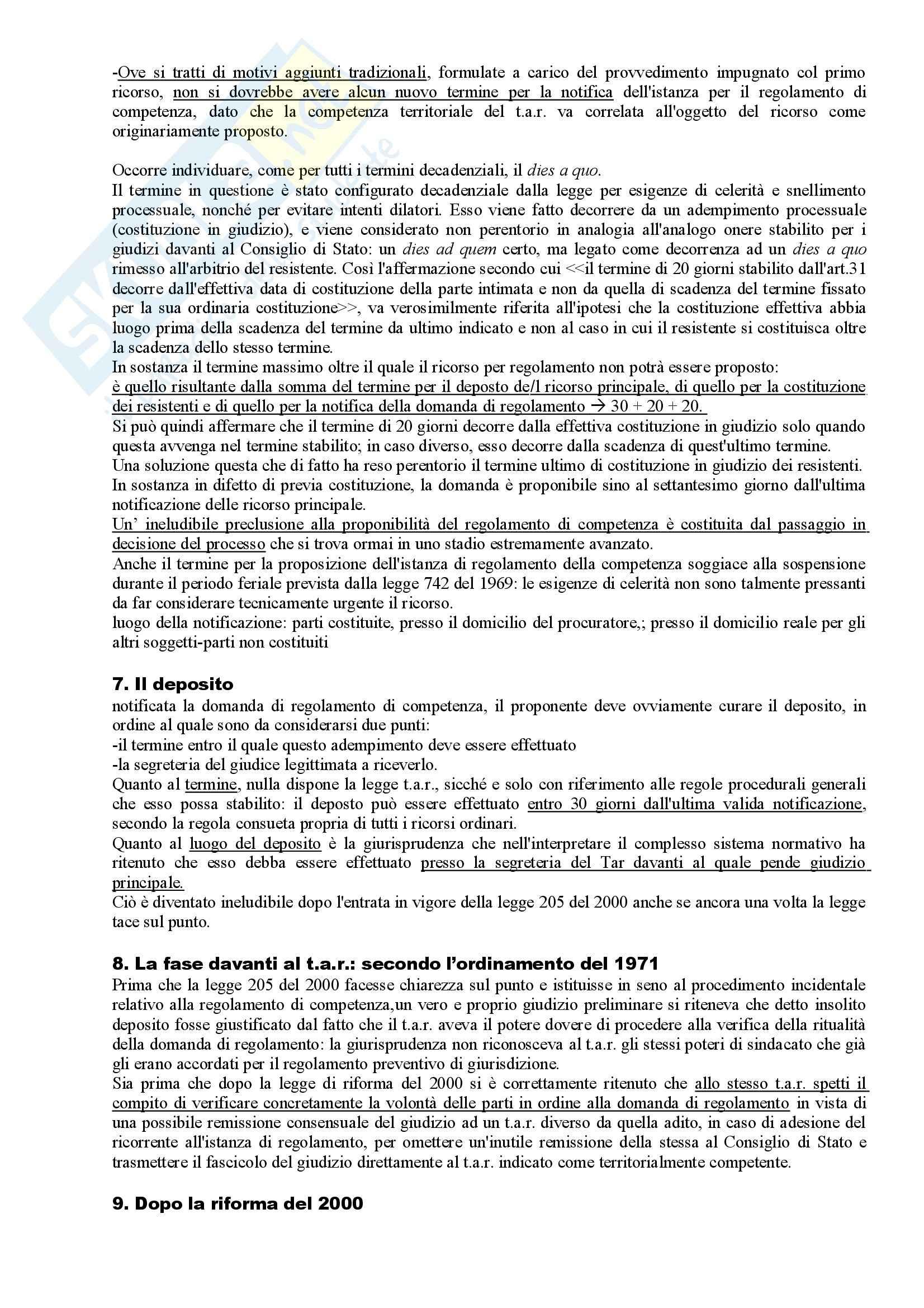 Riassunto esame Diritto Amministrativo, prof. Apicella, libro consigliato Sistema di Giustizia Amministrativa, Saitta Pag. 31