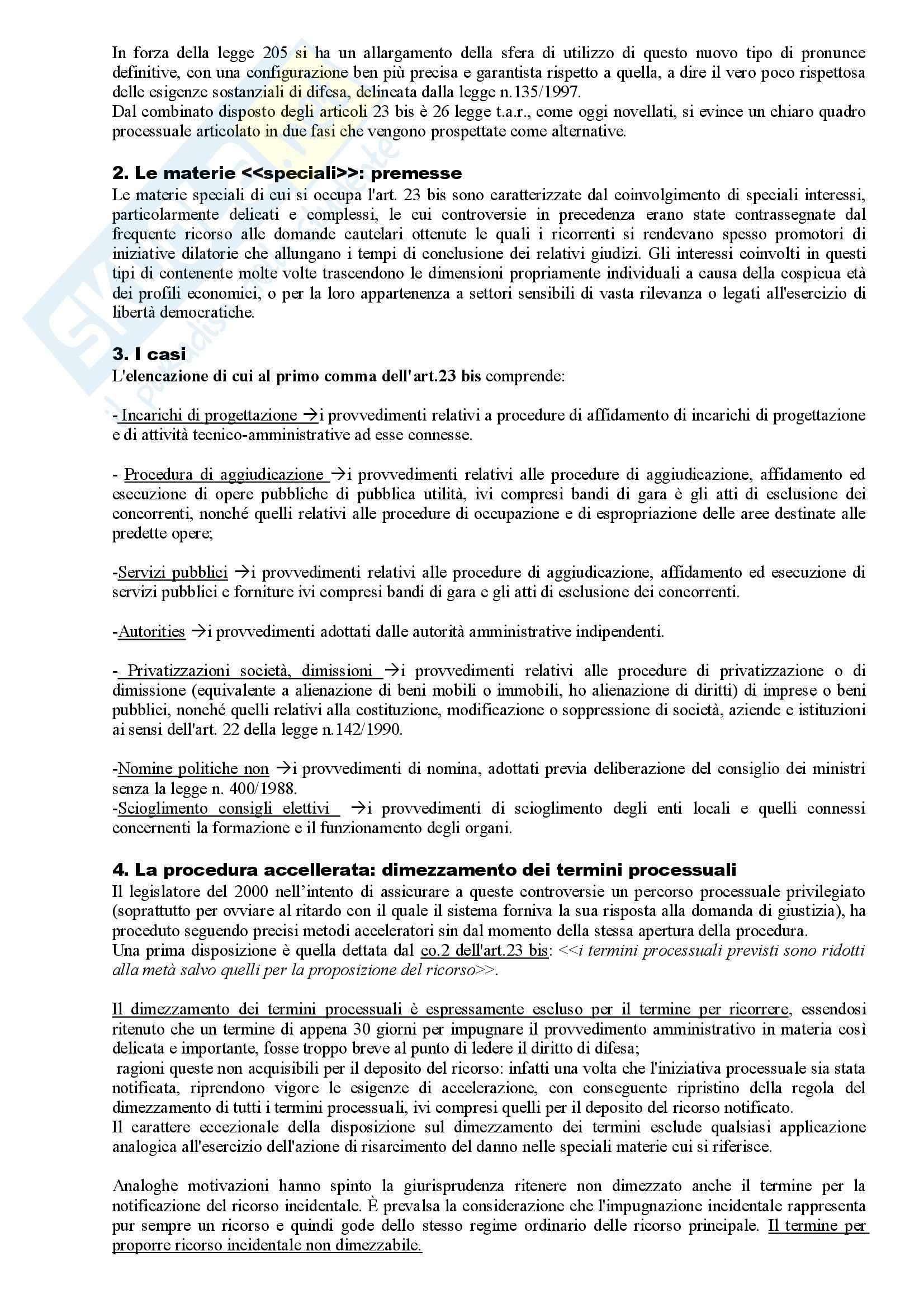 Riassunto esame Diritto Amministrativo, prof. Apicella, libro consigliato Sistema di Giustizia Amministrativa, Saitta Pag. 41
