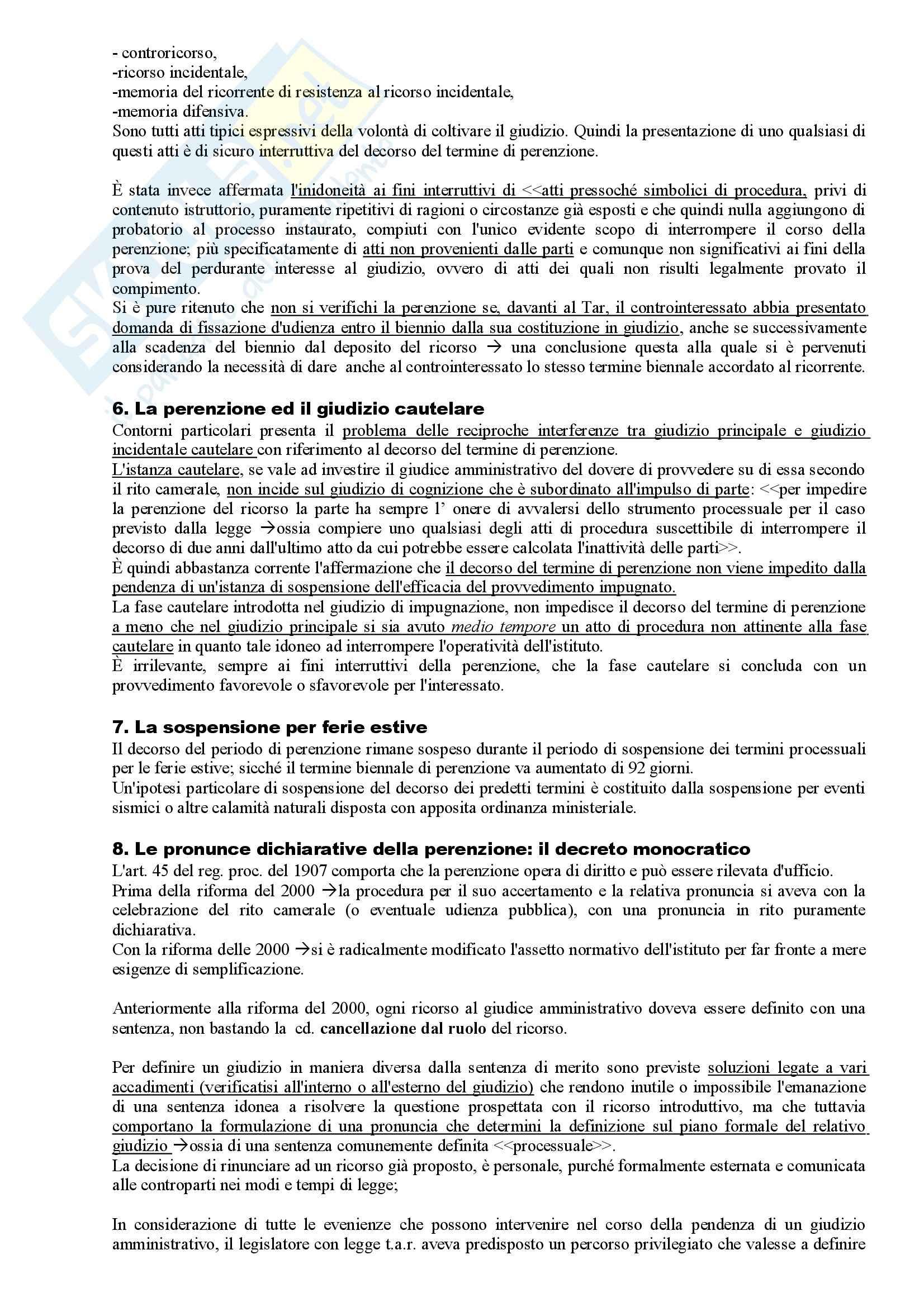 Riassunto esame Diritto Amministrativo, prof. Apicella, libro consigliato Sistema di Giustizia Amministrativa, Saitta Pag. 51