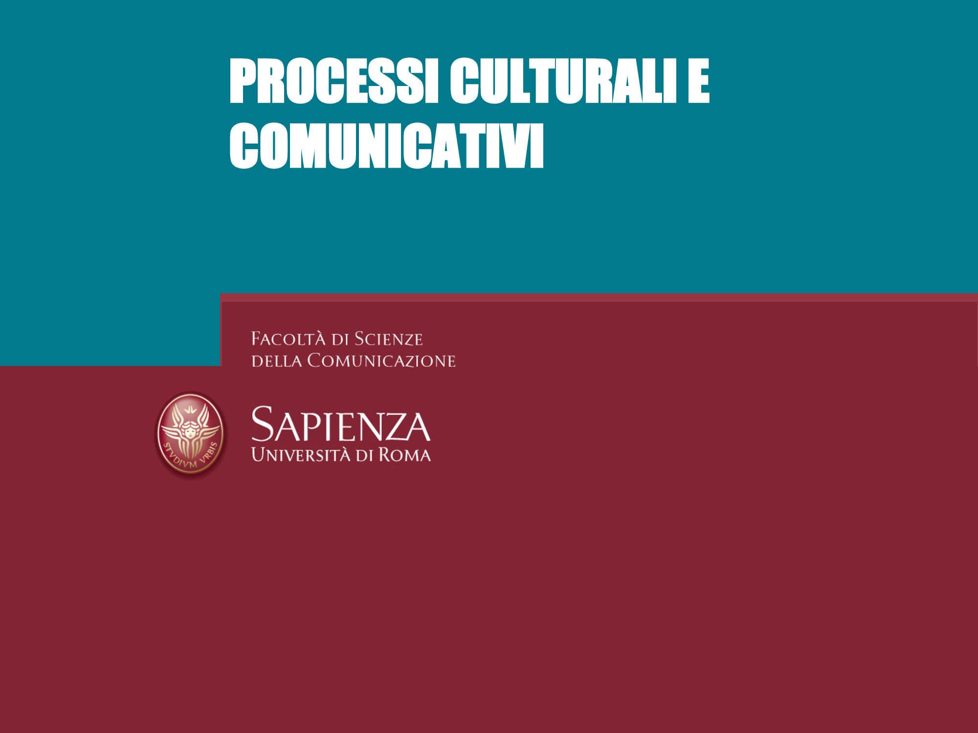 Comunicazione - Paradigmi