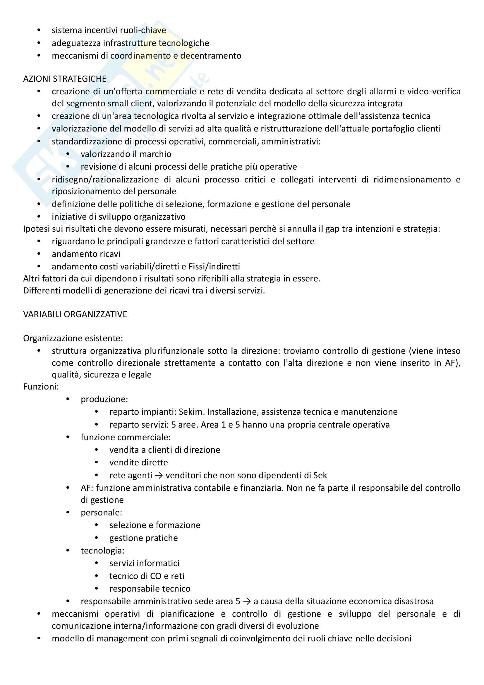 Programmazione e controllo strategico Pag. 81