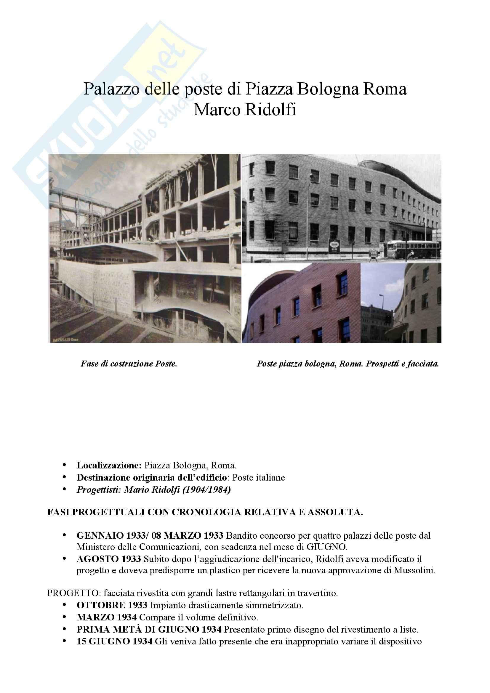 appunto M. Marandola Storia dell'architettura antica e moderna