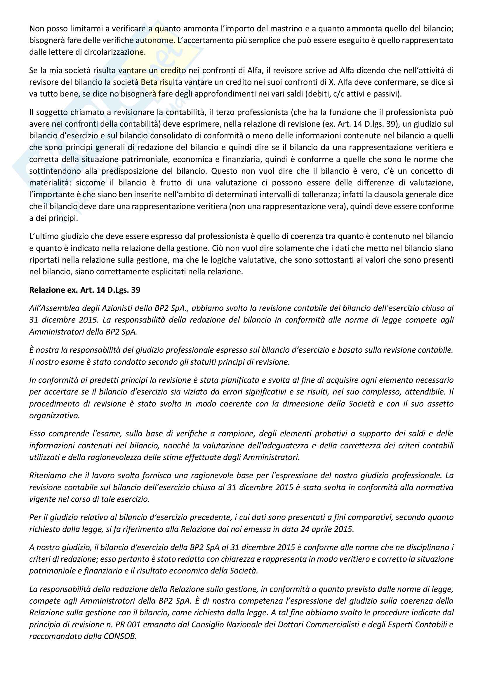 Appunti di Tecnica Professionale Pag. 36