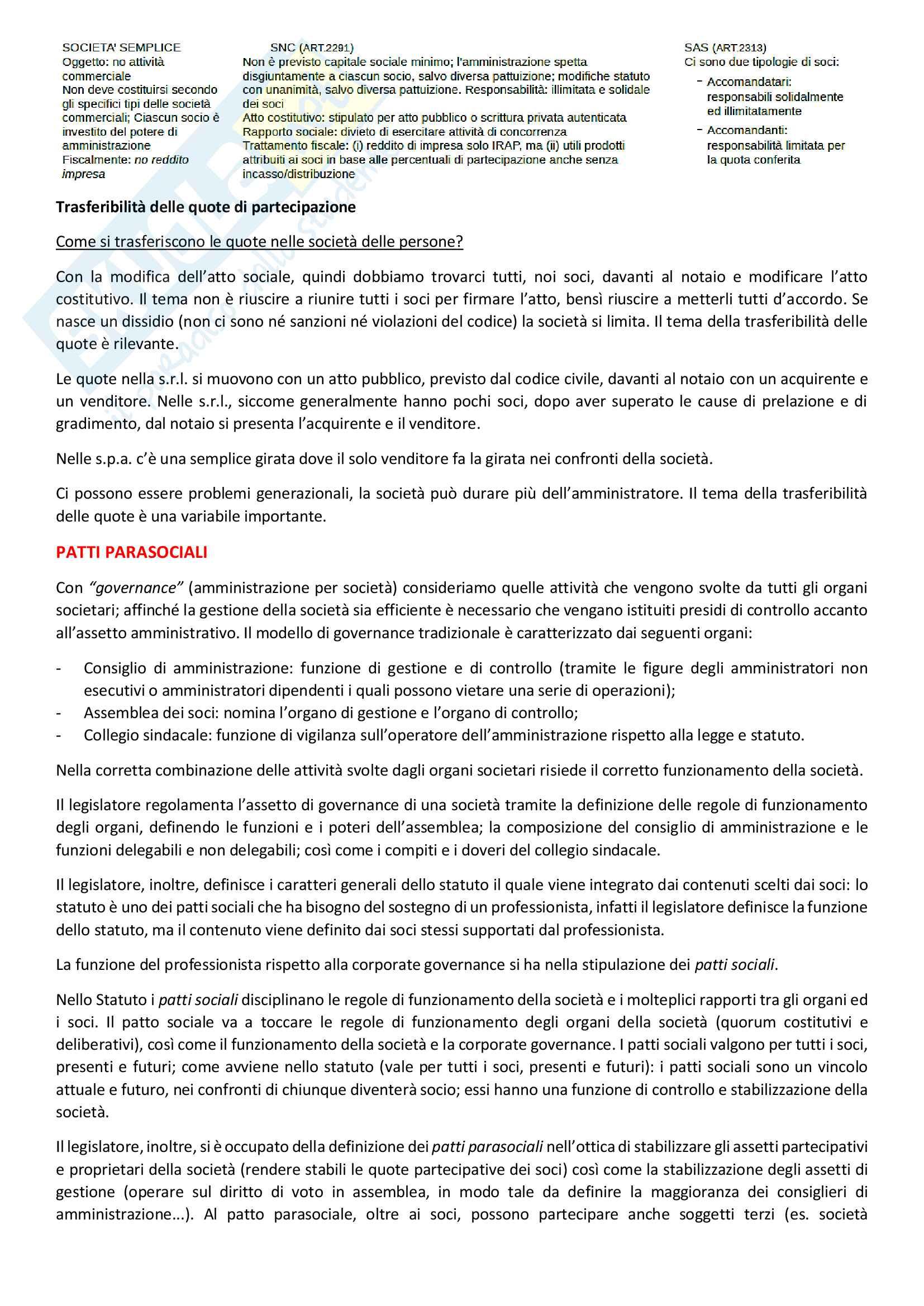 Appunti di Tecnica Professionale Pag. 41