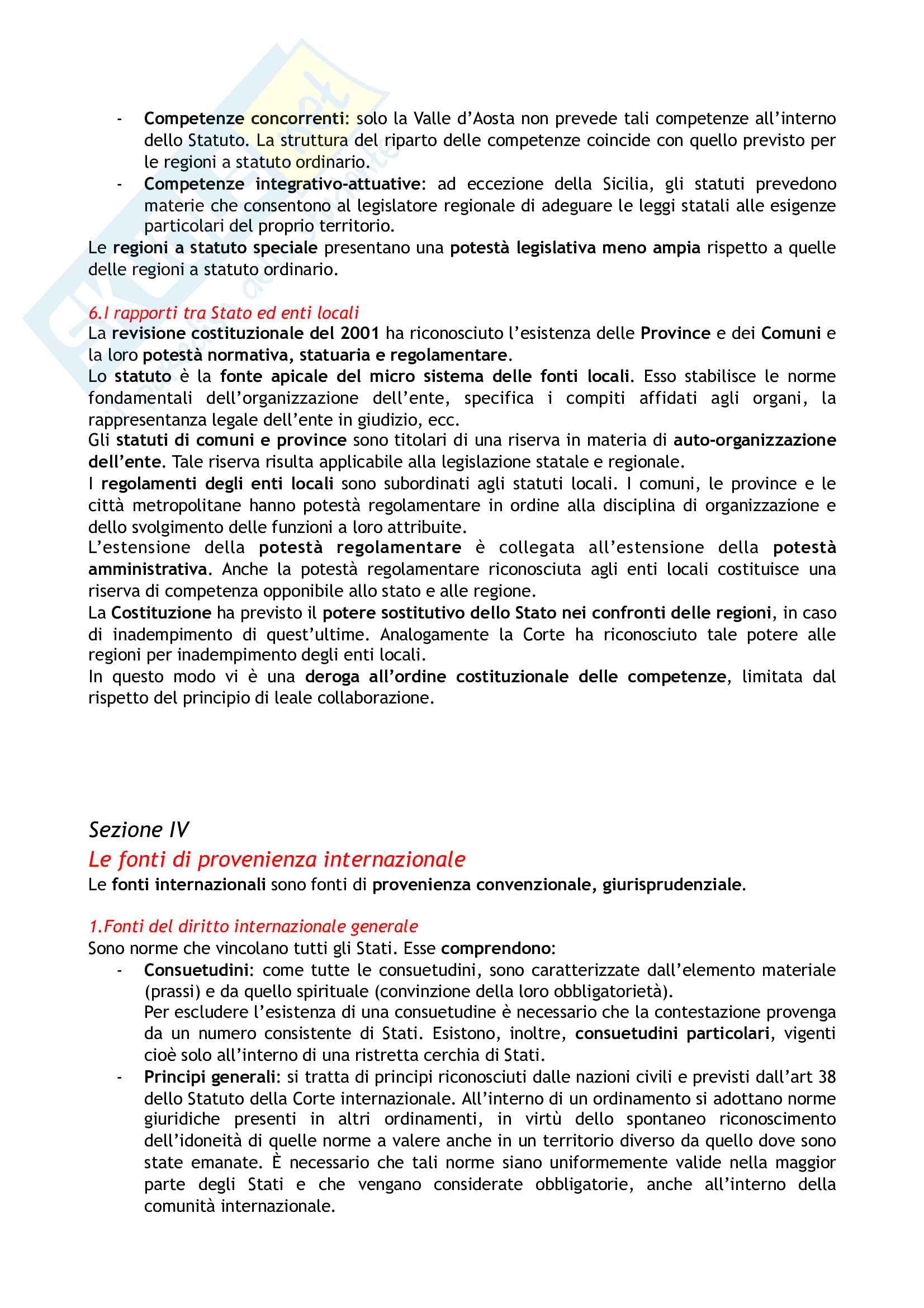 Riassunto esame Diritto costituzionale, prof. Tartaglia Polcini, libro consigliato Manuale di diritto costituzionale italiano ed europeo, Romboli Pag. 11