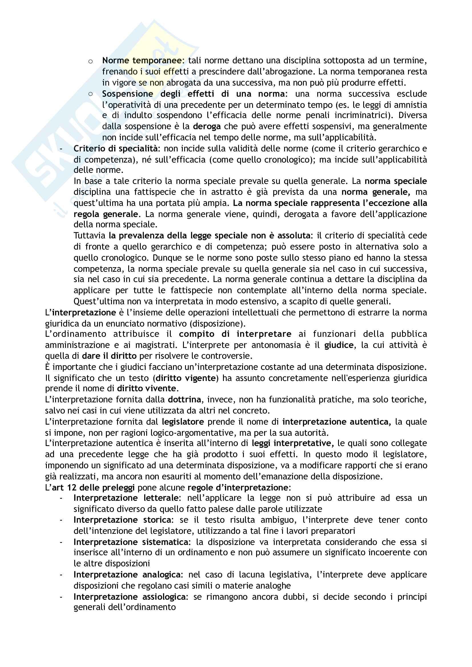 Riassunto esame Diritto costituzionale, prof. Tartaglia Polcini, libro consigliato Manuale di diritto costituzionale italiano ed europeo, Romboli Pag. 6