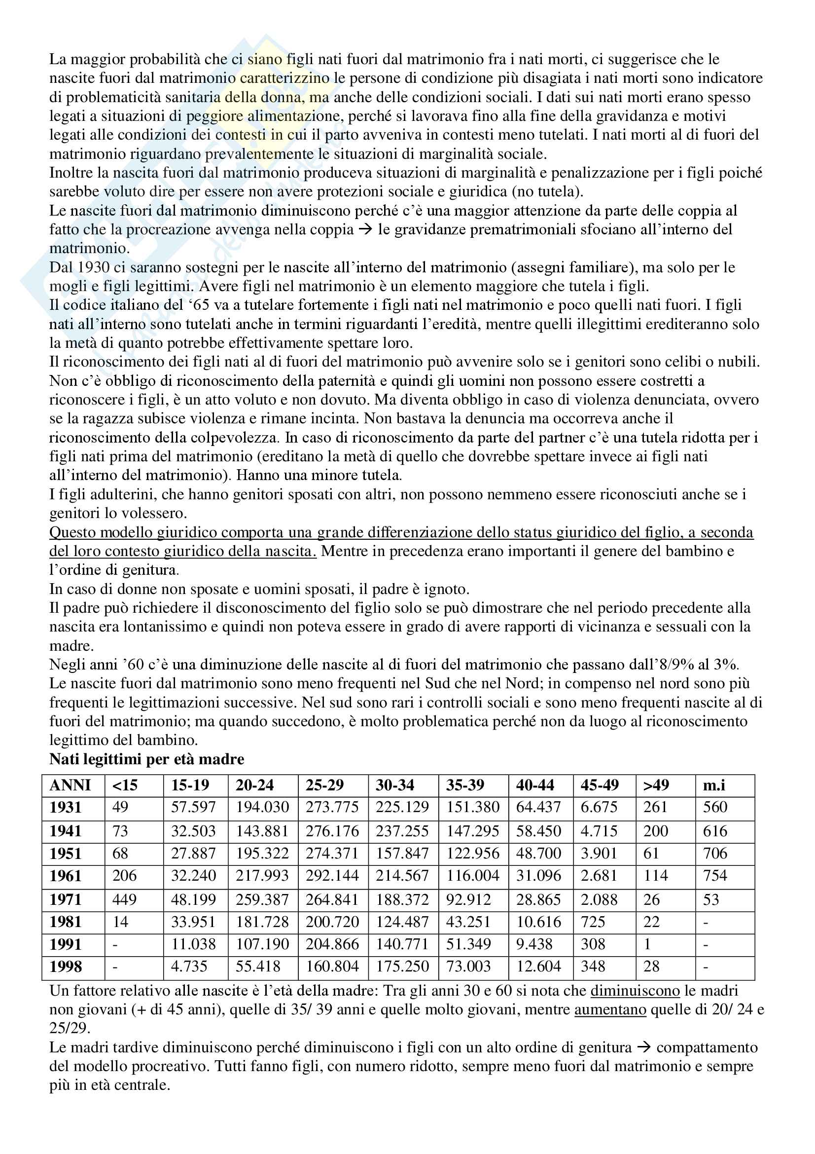 Sociologia della famiglia - Appunti Pag. 11