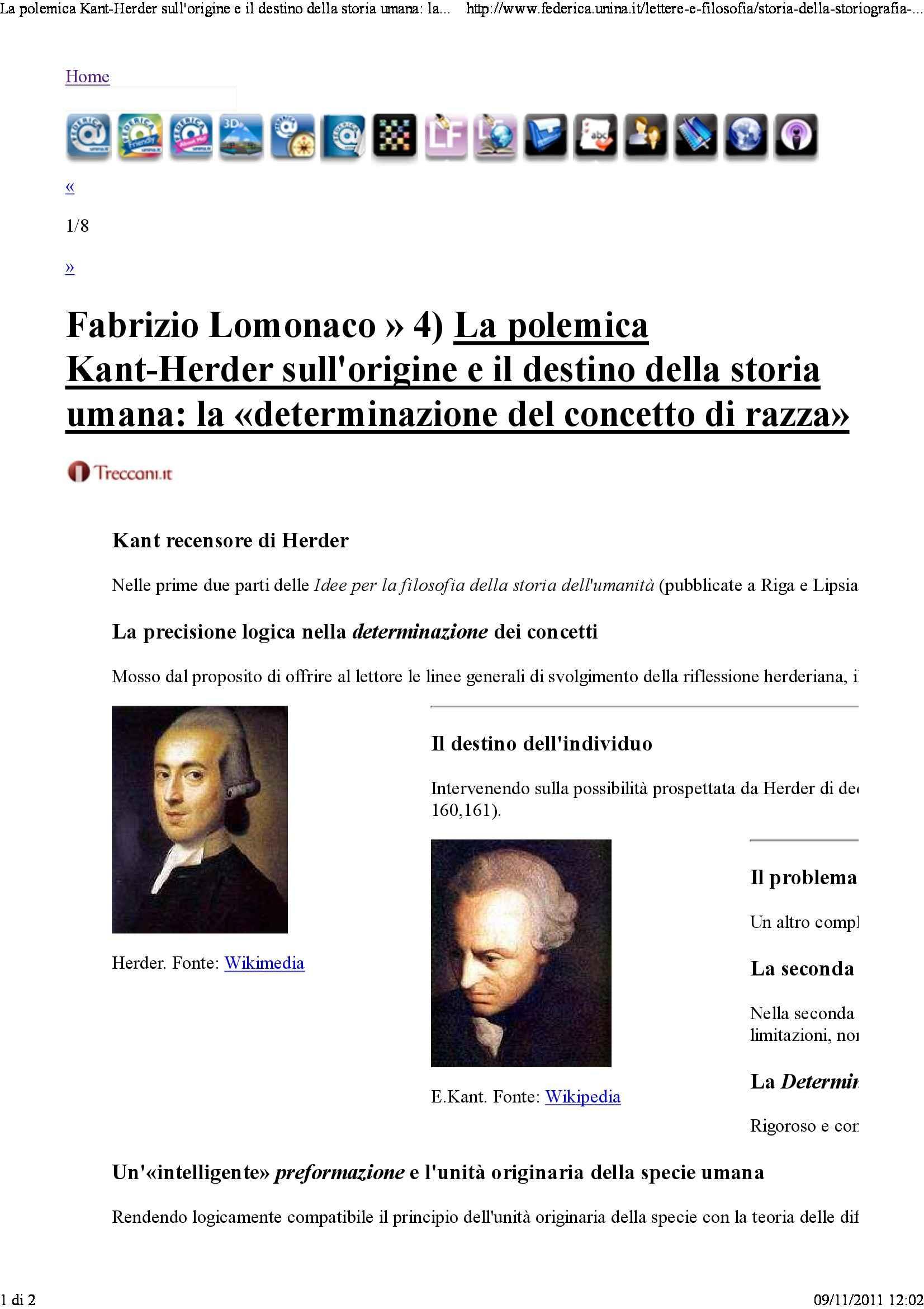 dispensa F. Lomonaco Storia della storiografia filosofica