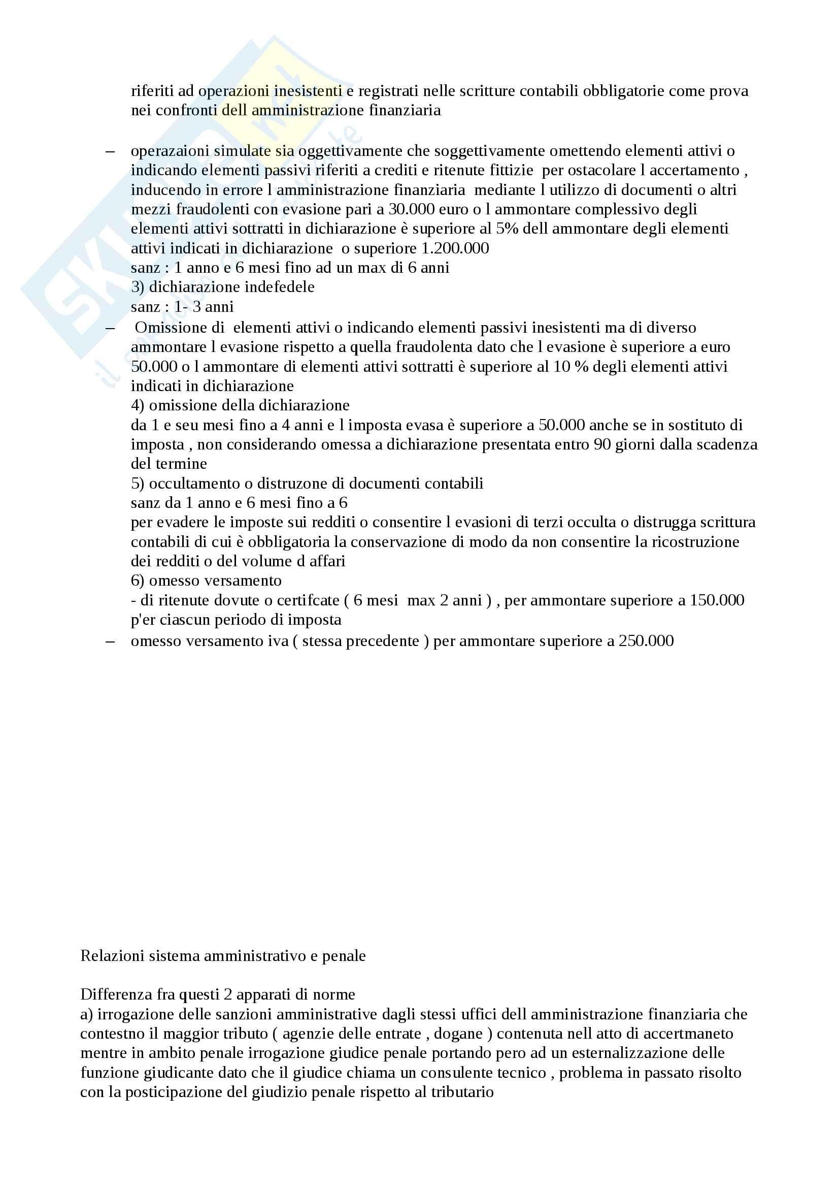 Appunti sintesi utilissima per esame diritto tributario proff.Selicato, Uricchio Pag. 76
