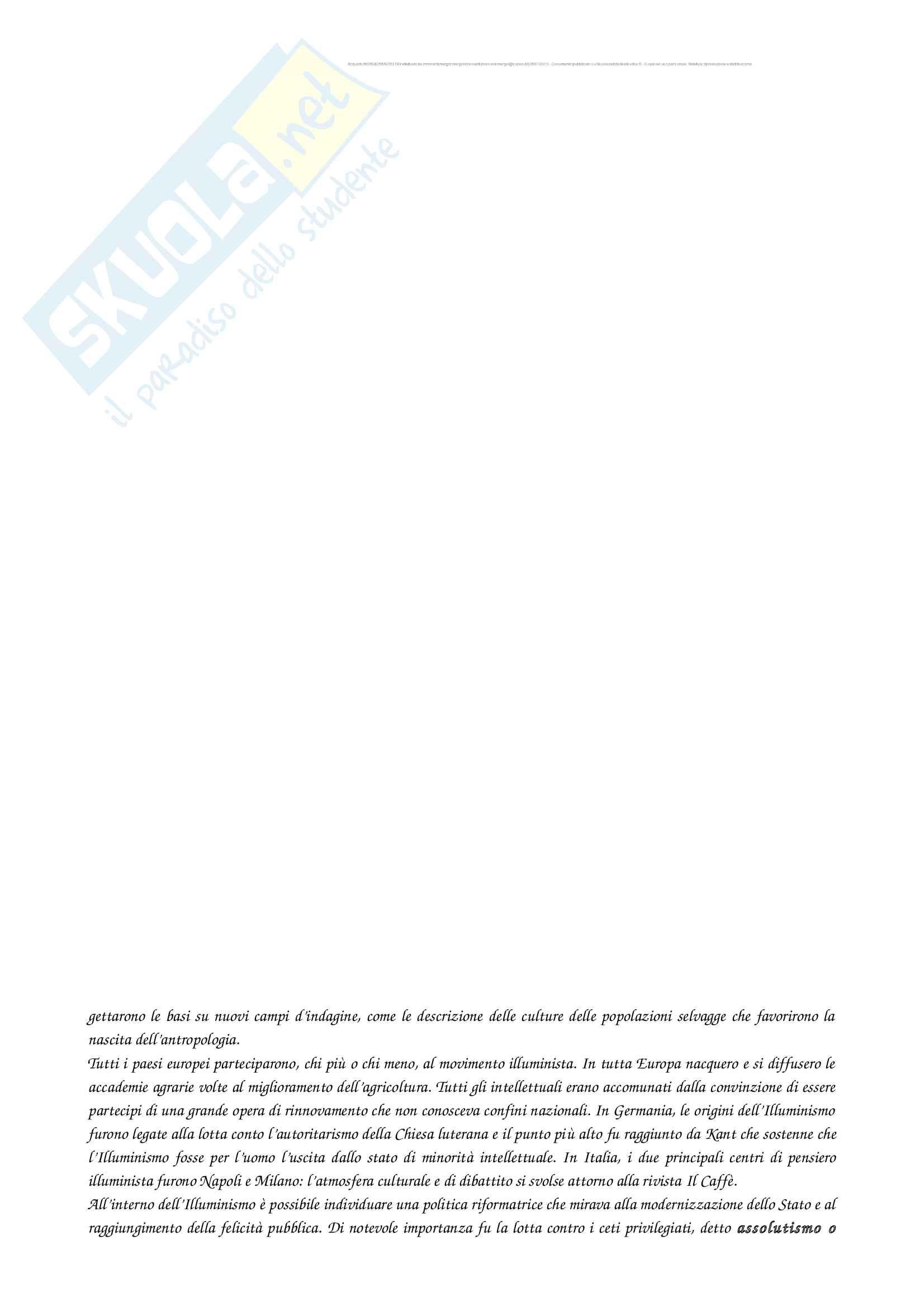 Riassunto per l'esame di Storia moderna, prof Maria Aurora Savelli, libro consigliato Storia moderna, Ago Renata, Vidotto Vittorio Pag. 36