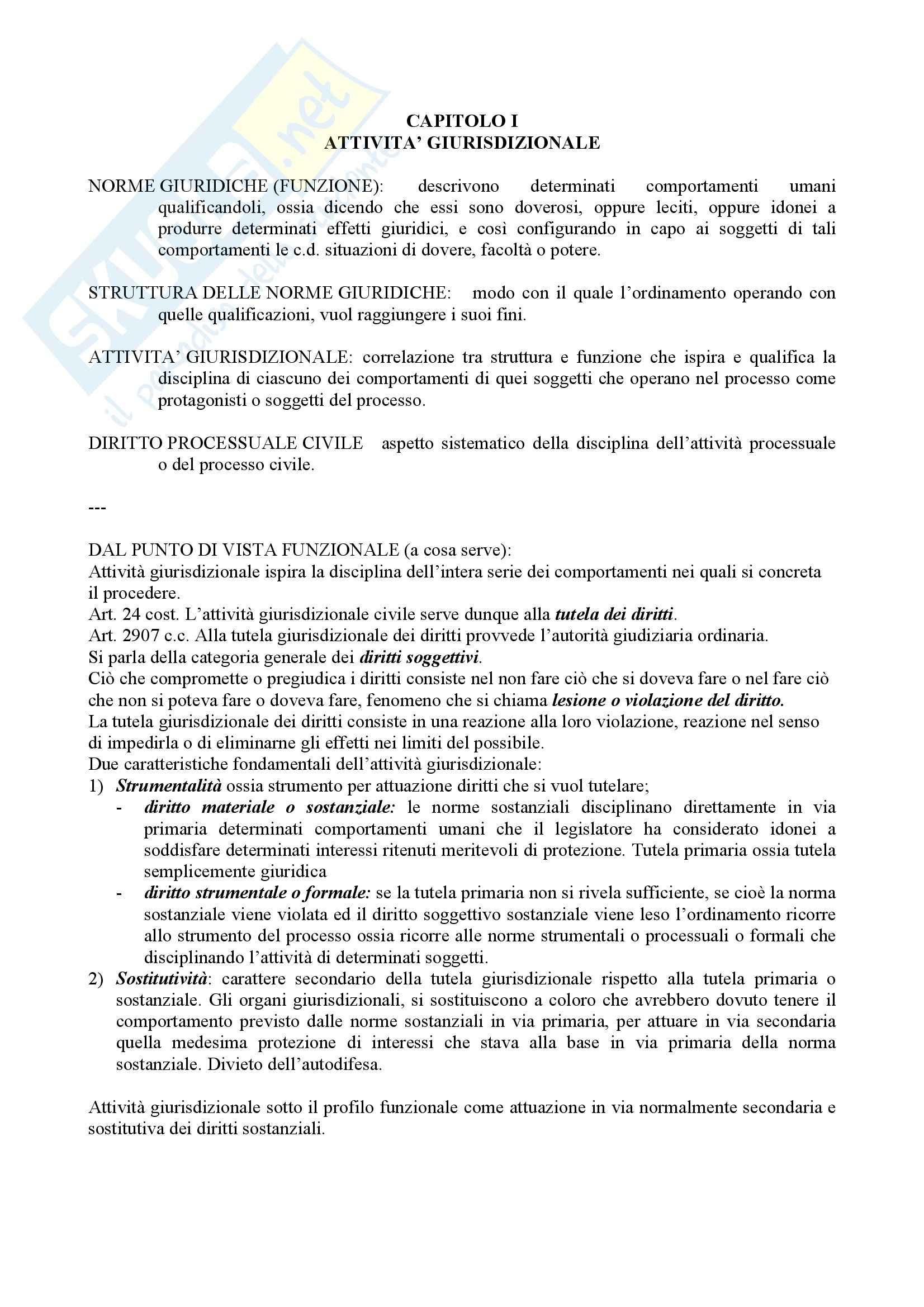 Procedura civile e amministrativa - nozioni generali