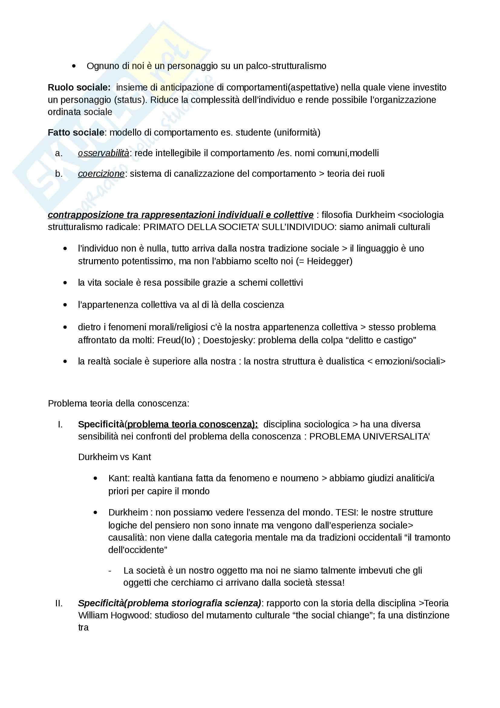 Storicità e storia della sociologia, Sociologia della comunicazione Pag. 2