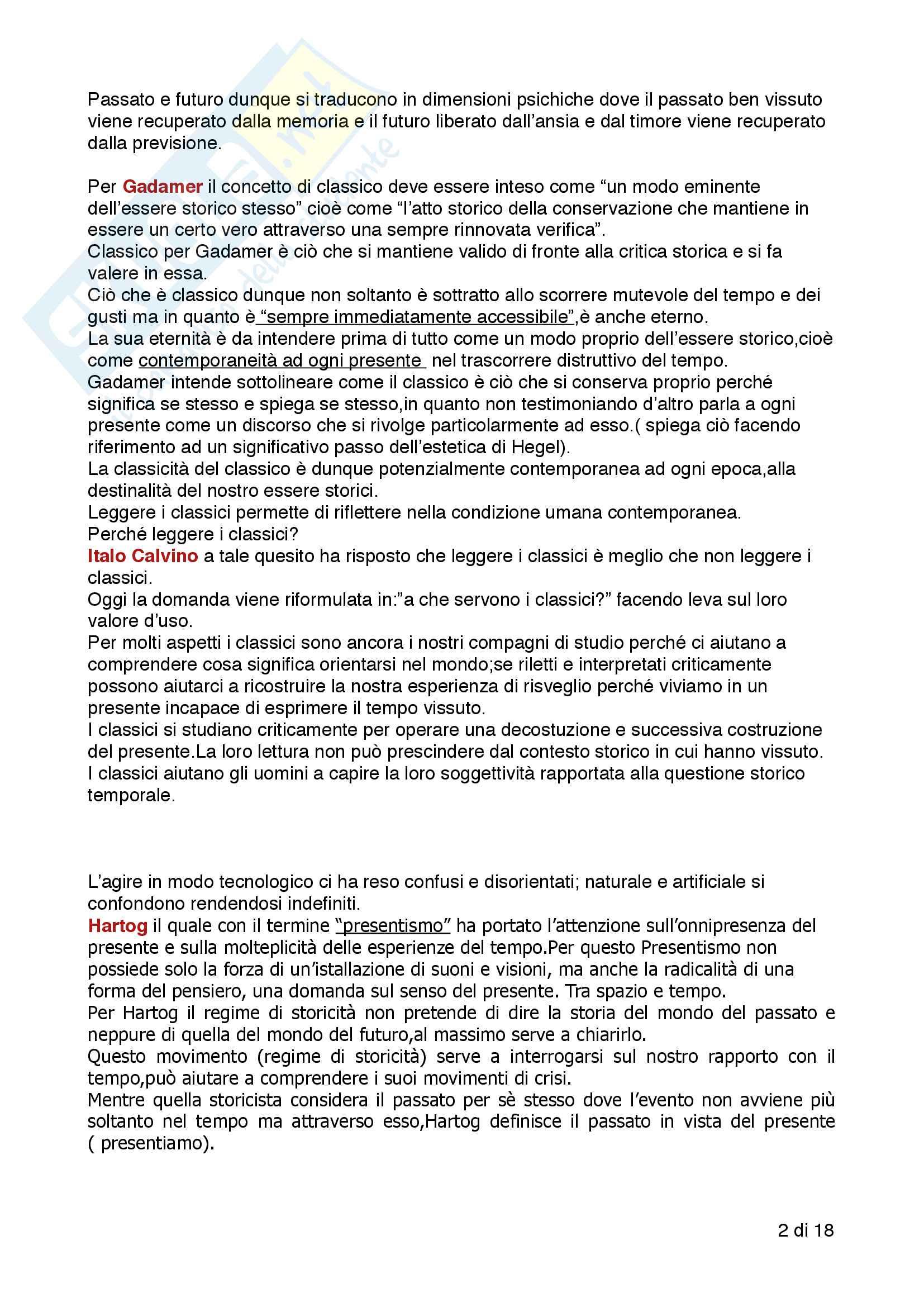 Riassunto esame filosofia della cultura, prof. De Simone Antonio, libro consigliato Intervista a Machiavelli, Antonio De Simone, Davide D'Alessandro Pag. 2