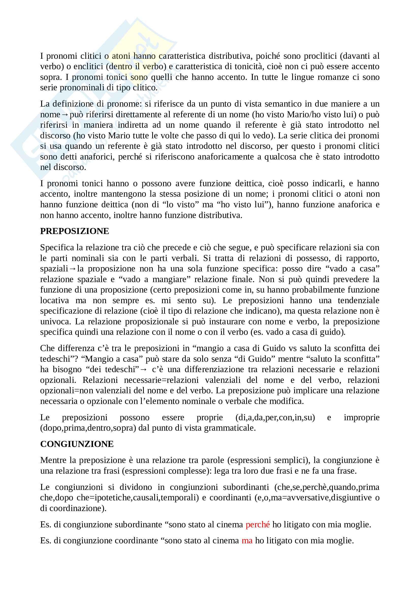 Linguistica generale - linguaggio e comunicazione, sintassi e fonetica Pag. 41
