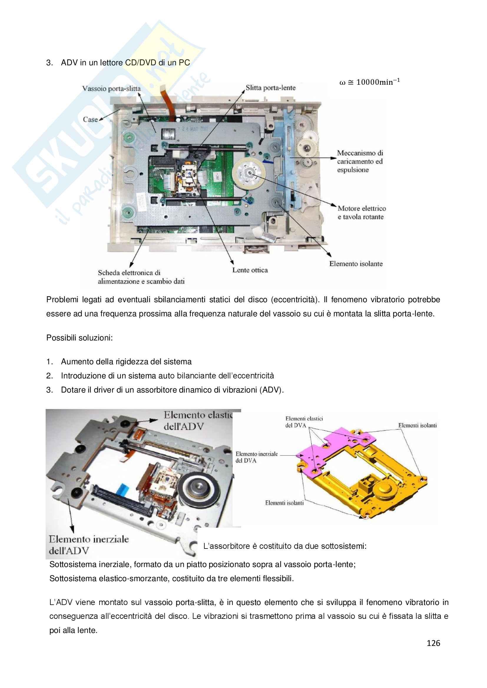 Appunti di Meccanica delle vibrazioni Pag. 126