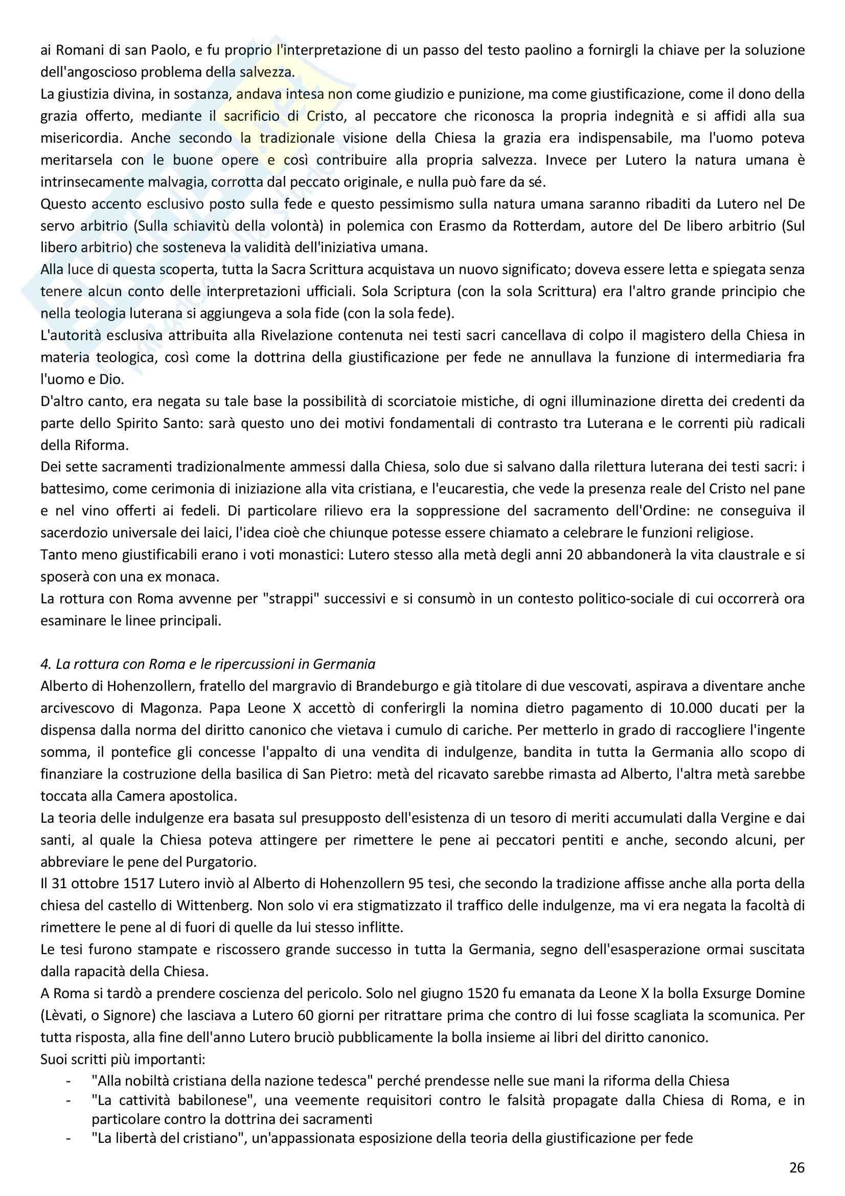 Riassunto esame Storia moderna, prof. Melani, libro consigliato Storia moderna (1492 1848), Capra Pag. 26