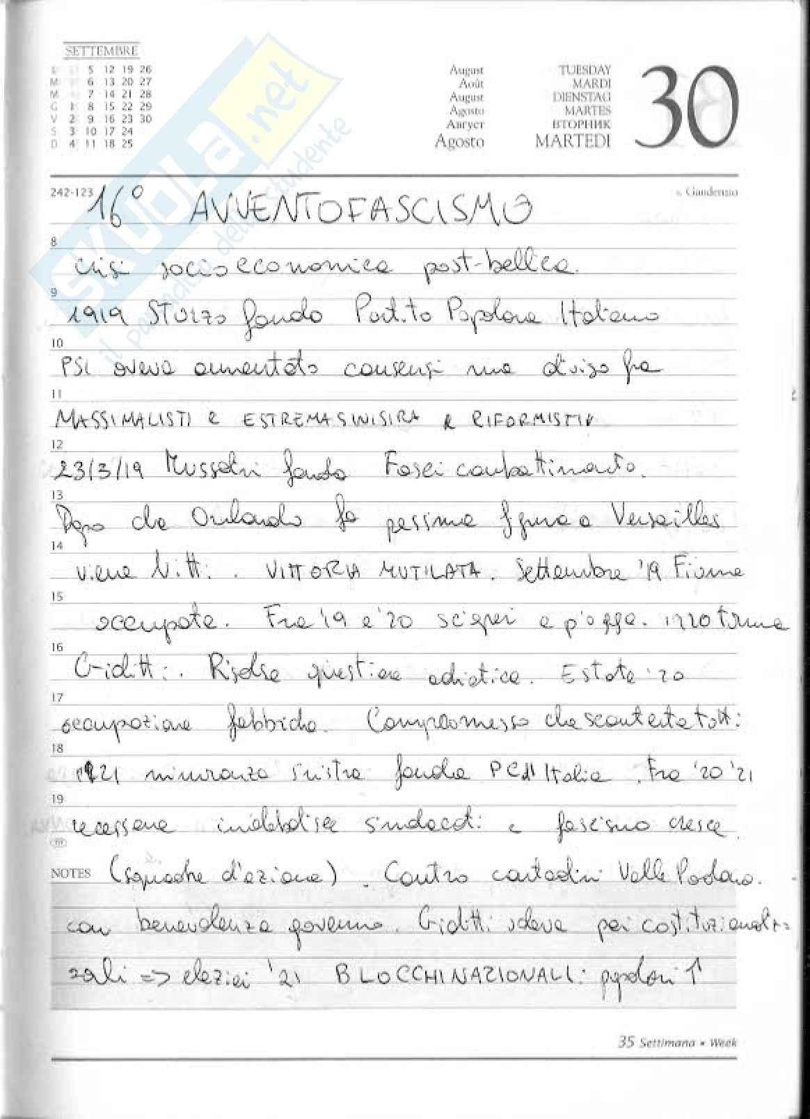 Italia fascista - Sabbatucci, Vidotto
