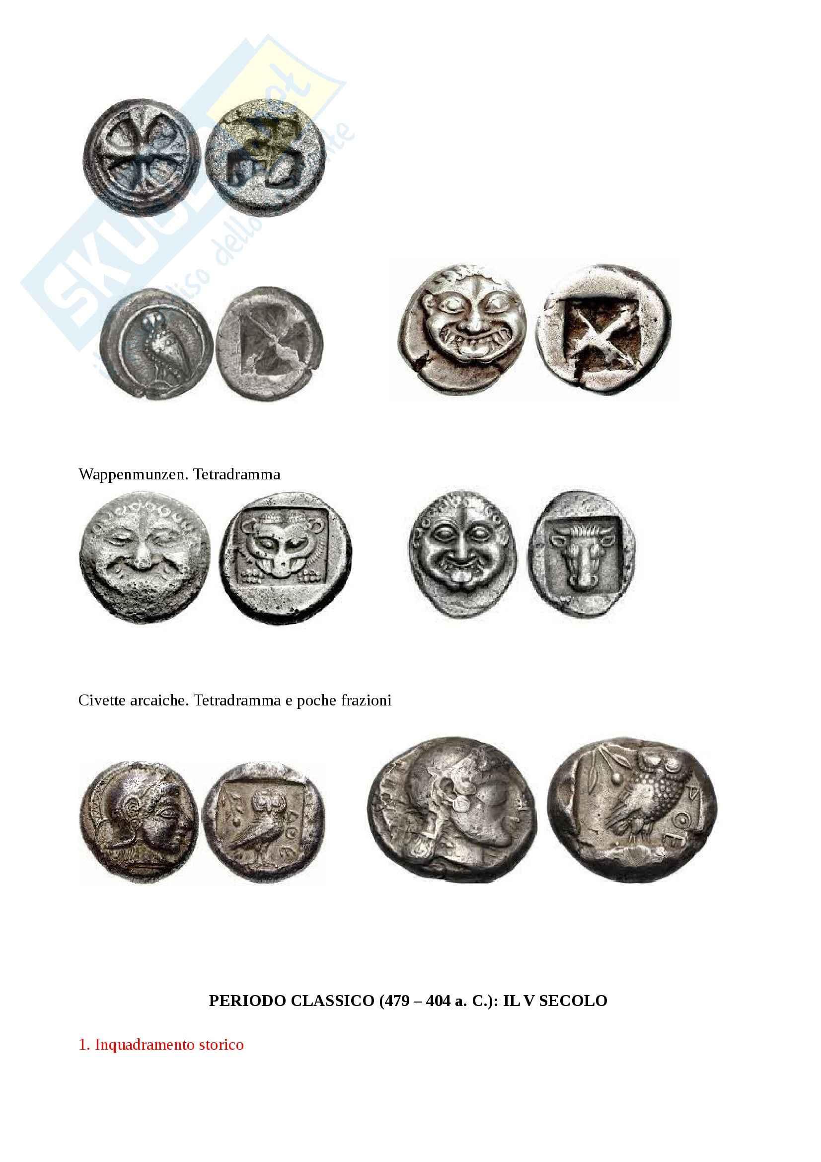 Monetazione greca Pag. 16