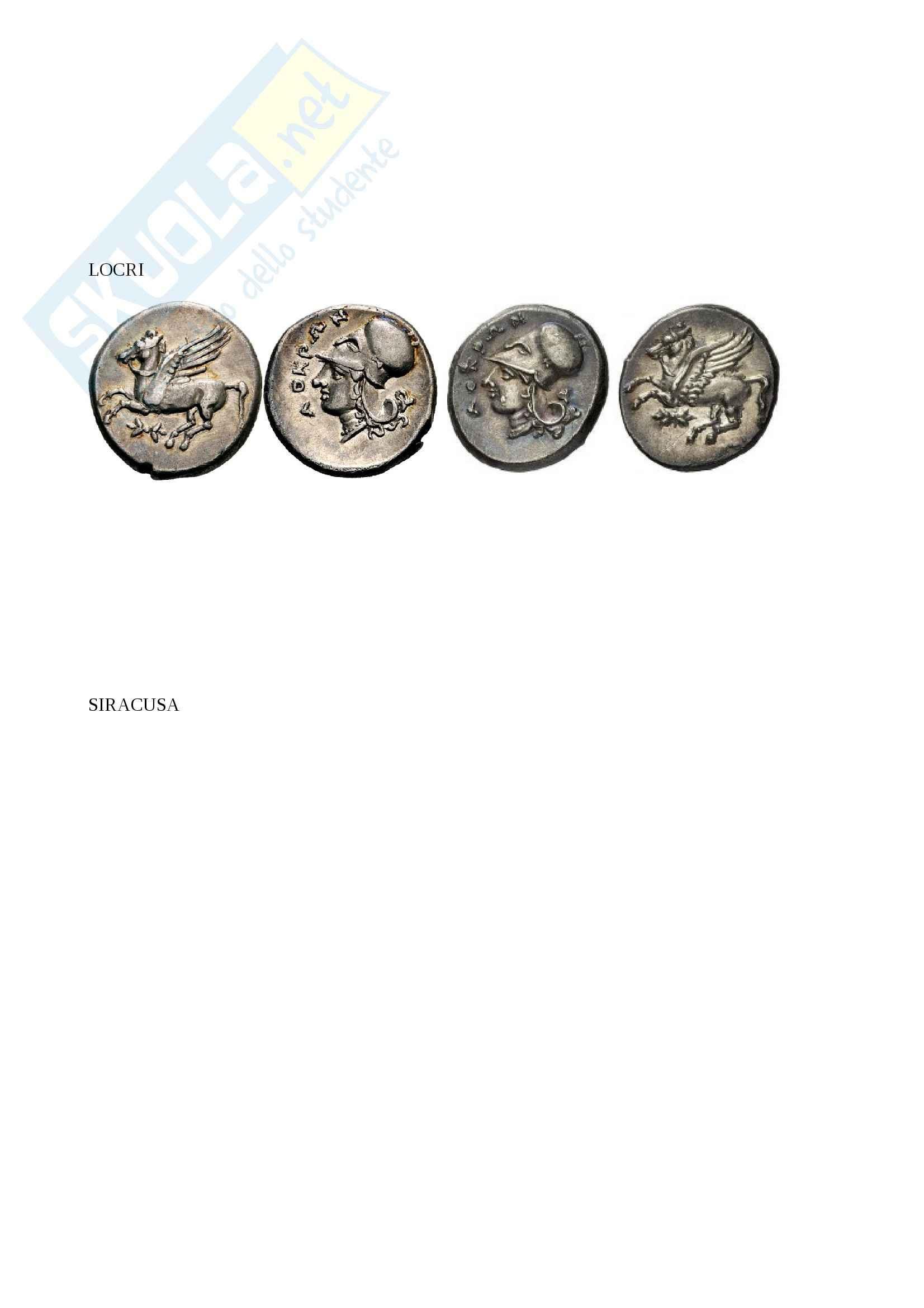 Monetazione greca Pag. 41