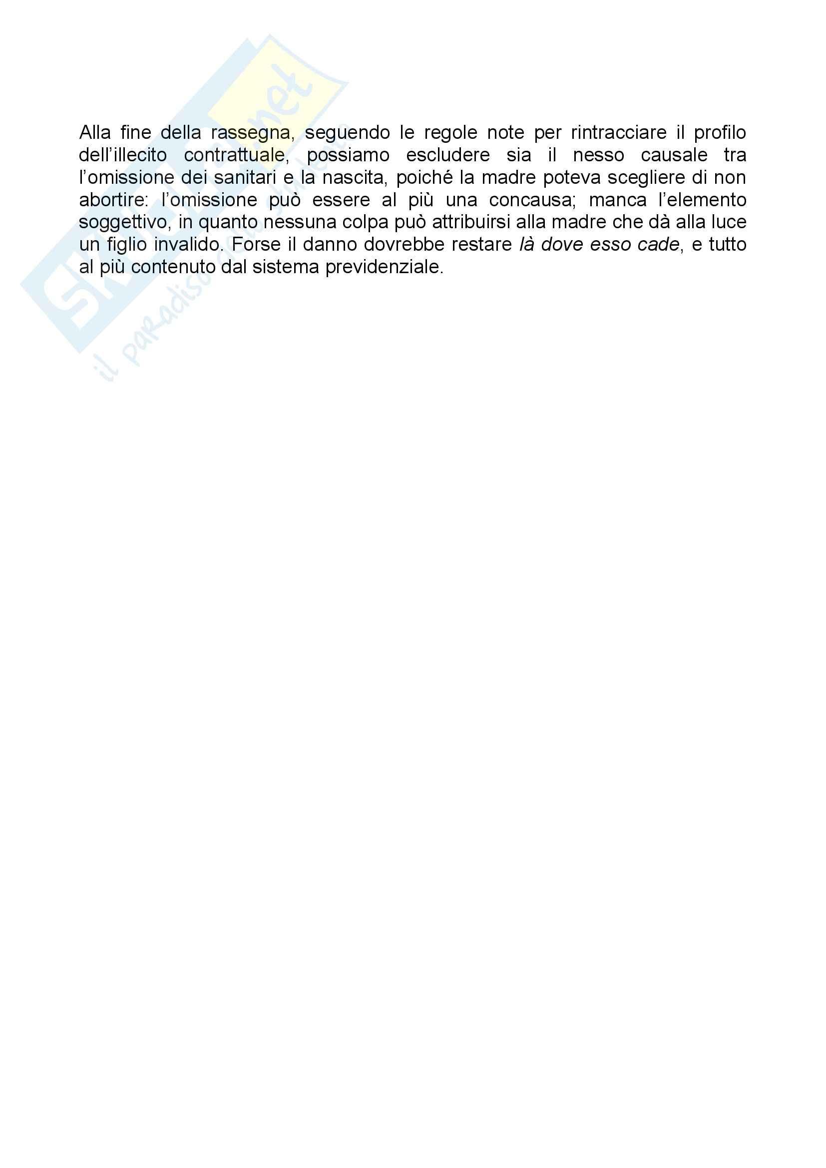 Diritto Civile - Sentenze - Riassunto esame, prof. Ricca Pag. 6