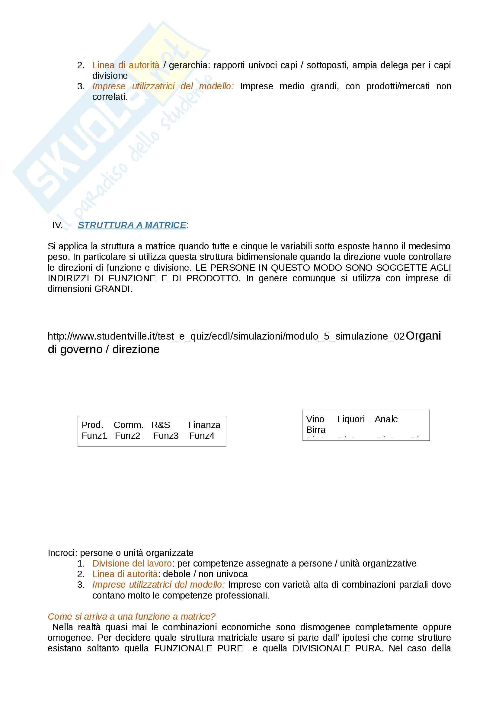 Sistema prodotto e formula competitiva, Economia aziendale Pag. 11