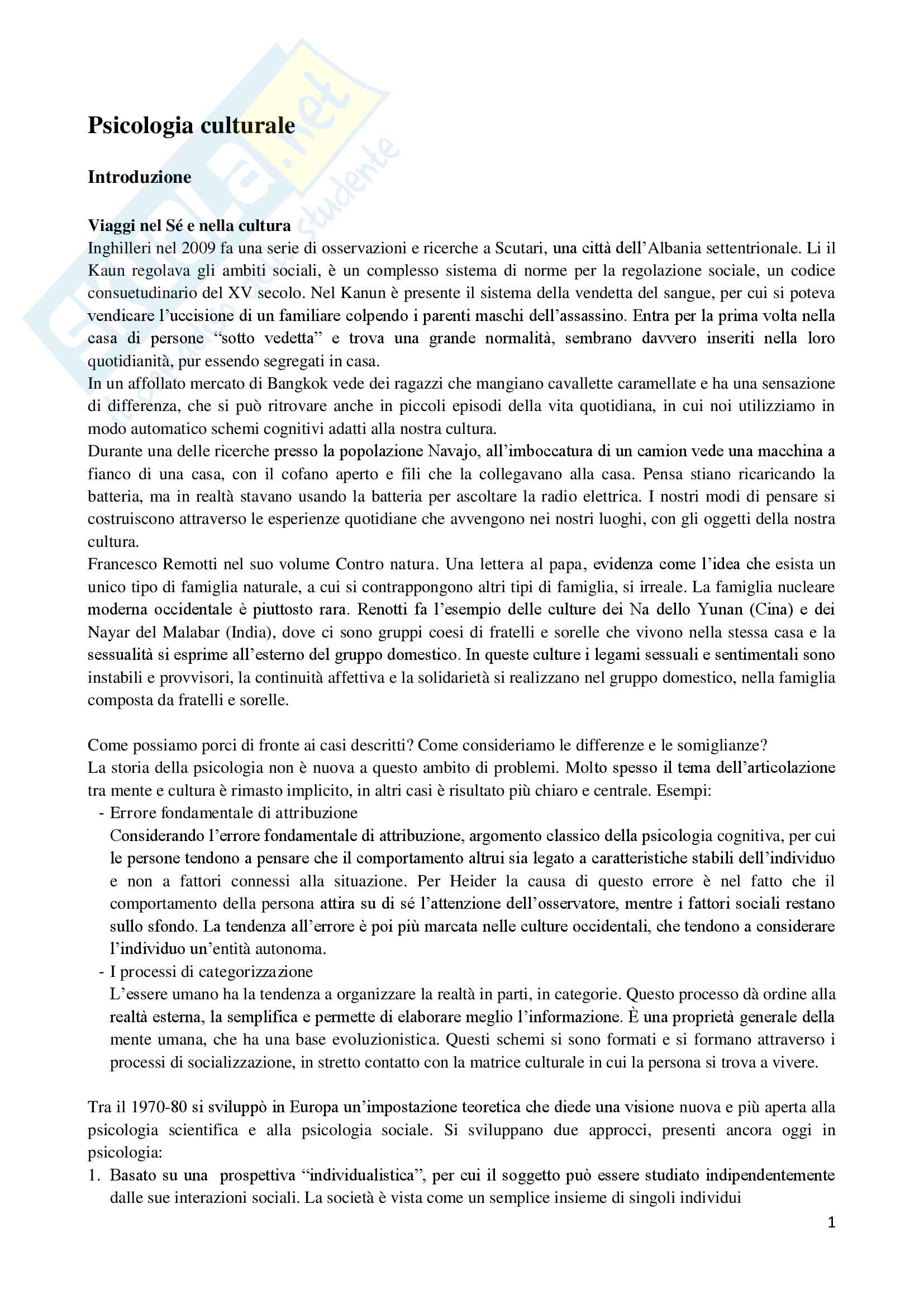 appunto P. Inghilleri Psicologia sociale ed ambientale