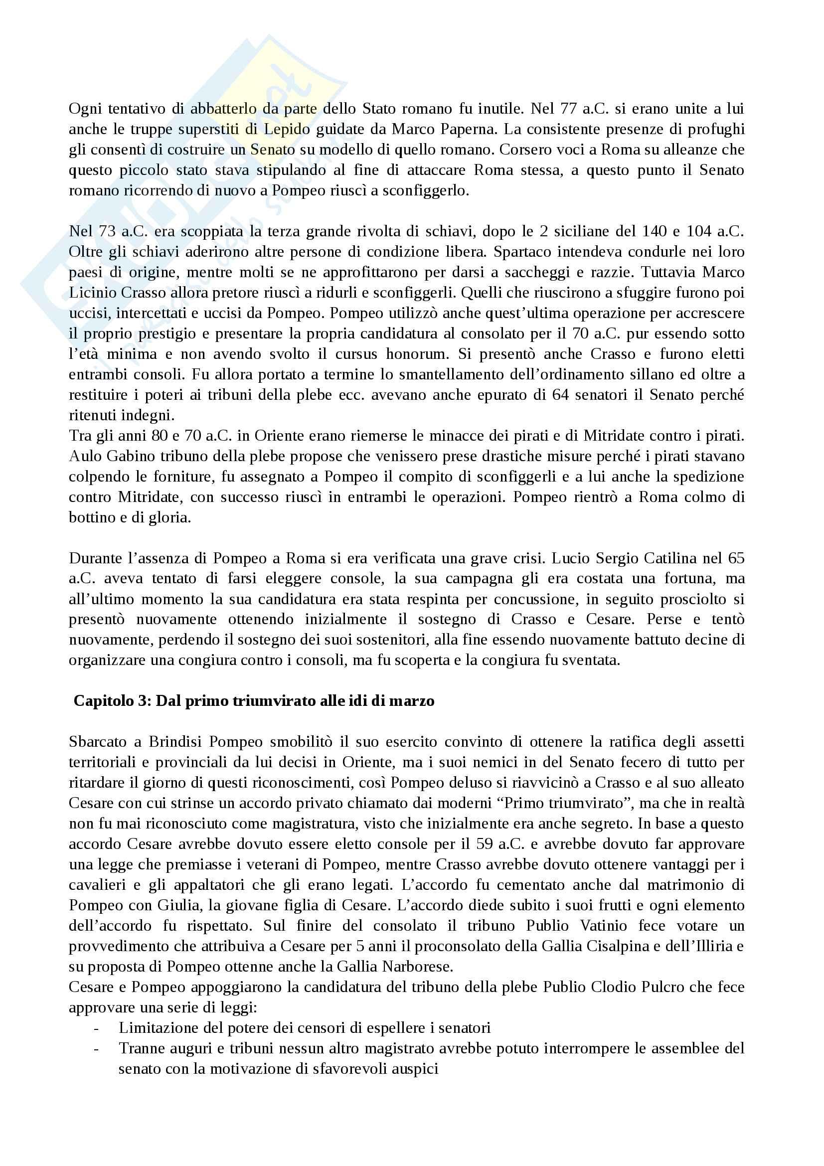 Riassunto esame Storia Romana Pag. 21