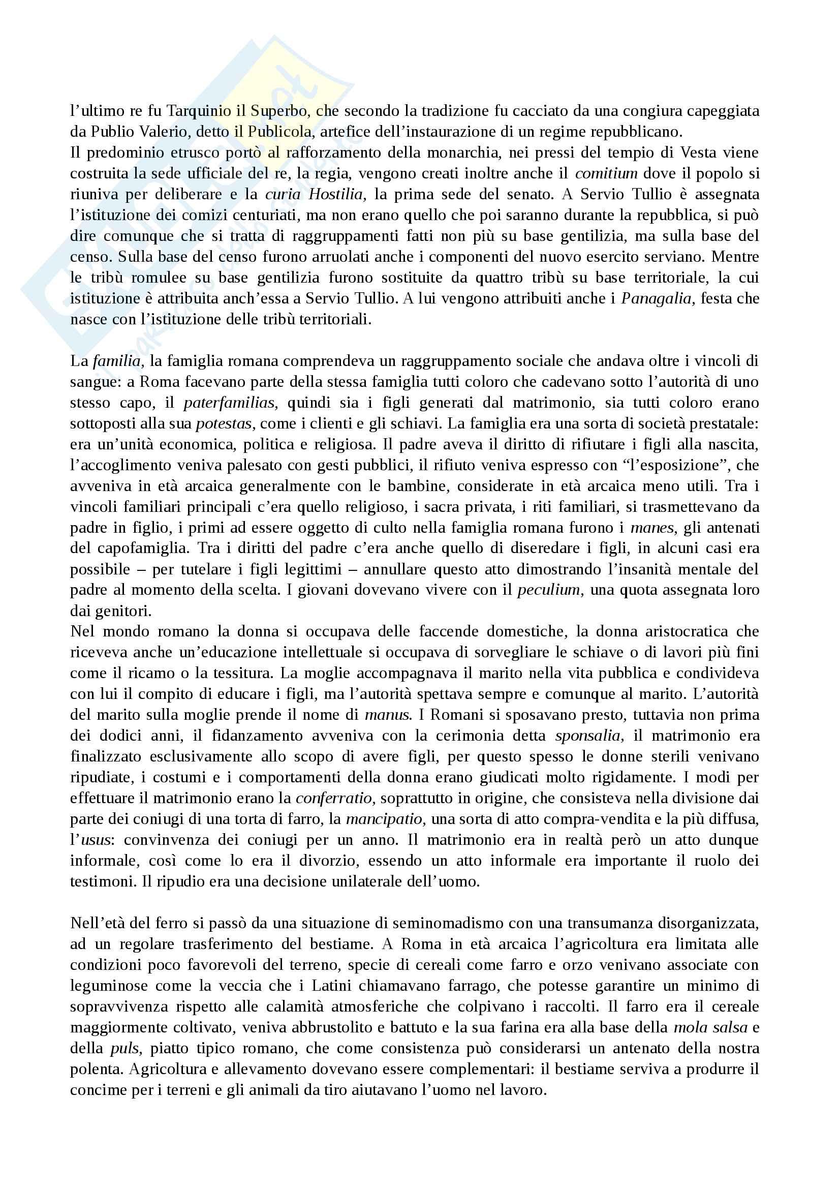 Riassunto esame Storia Romana Pag. 6