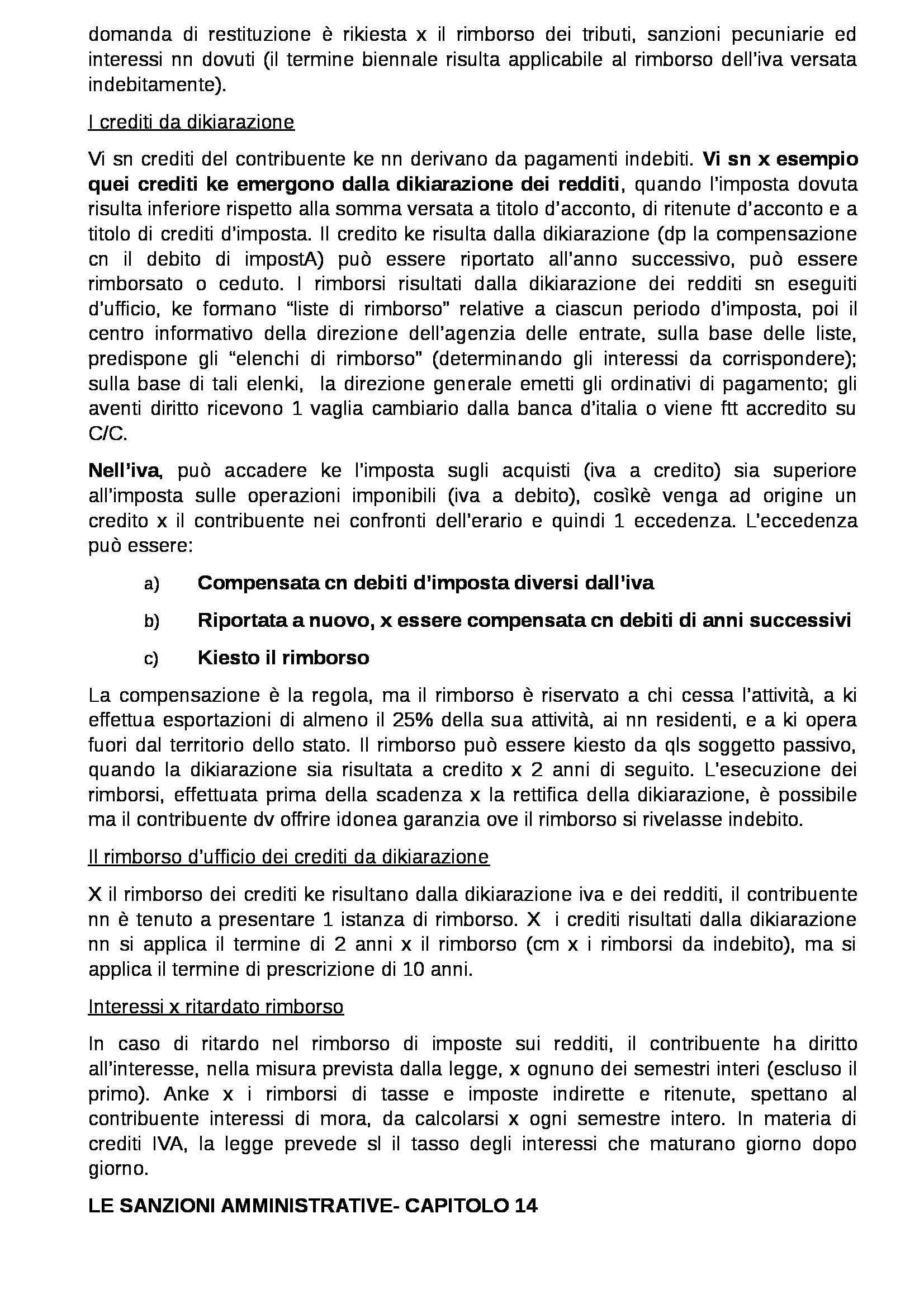 Riassunto esame Diritto Tributario, prof. Coppola, libro consigliato Diritto tributario: Parte generale di Tesauro Pag. 61