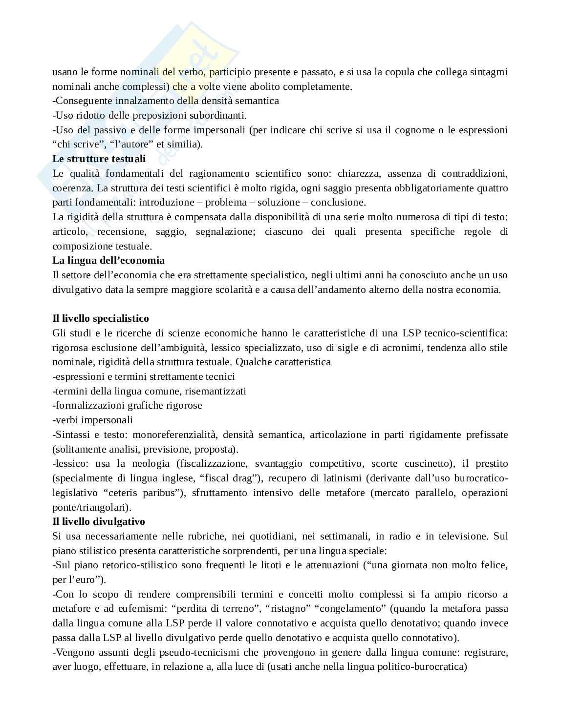 Riassunto esame Sociolinguistica,  prof. Mori, libro consigliato Introduzione all'italiano contemporaneo.Vol. 2 (la variazione e gli usi), Sobrero Pag. 21