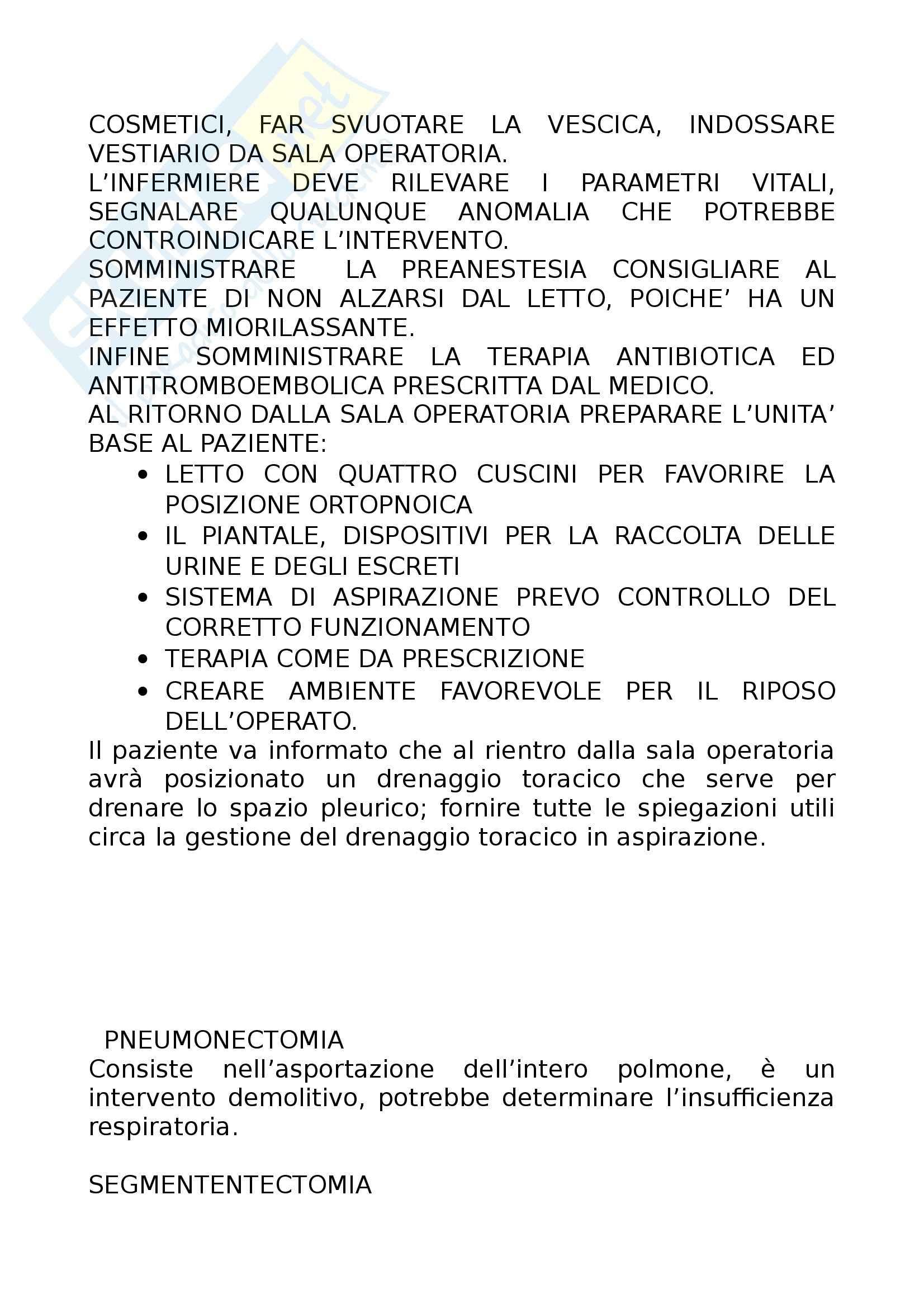 Infermieristica e tecniche infermieristiche chirurgiche - nozioni Pag. 11