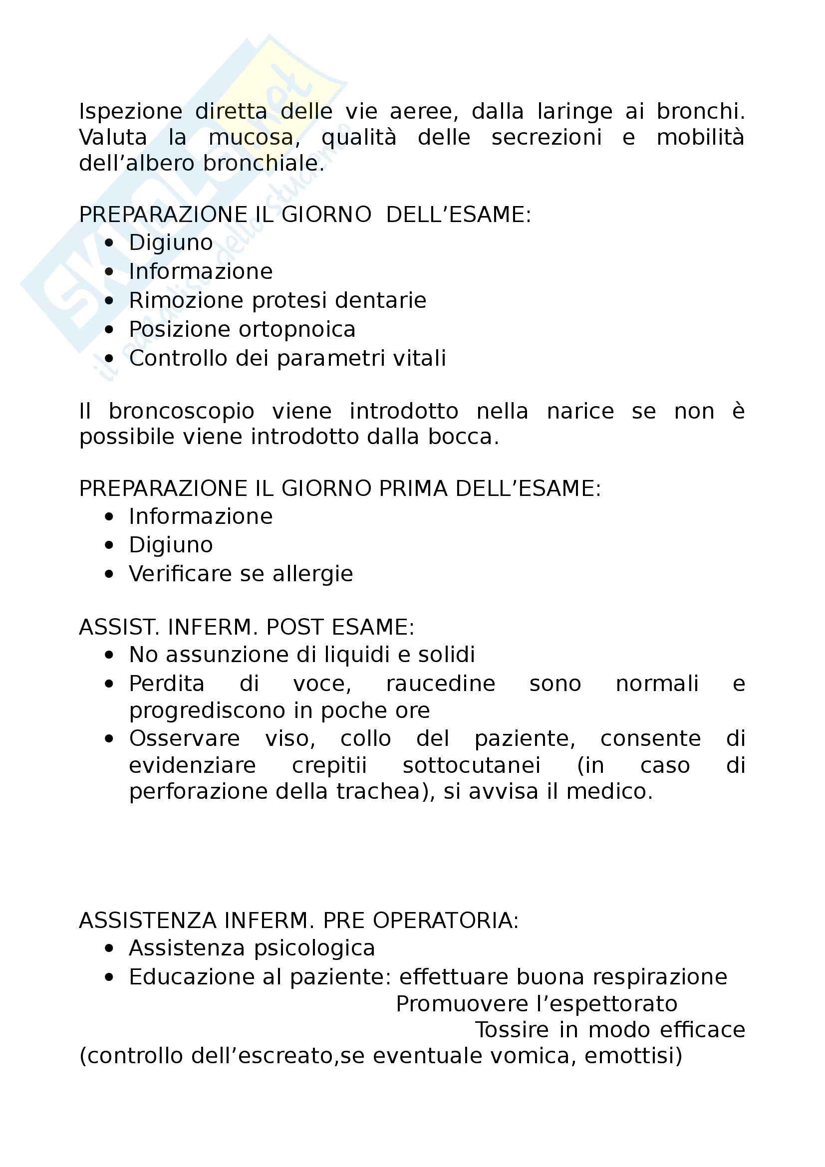 Infermieristica e tecniche infermieristiche chirurgiche - nozioni Pag. 2