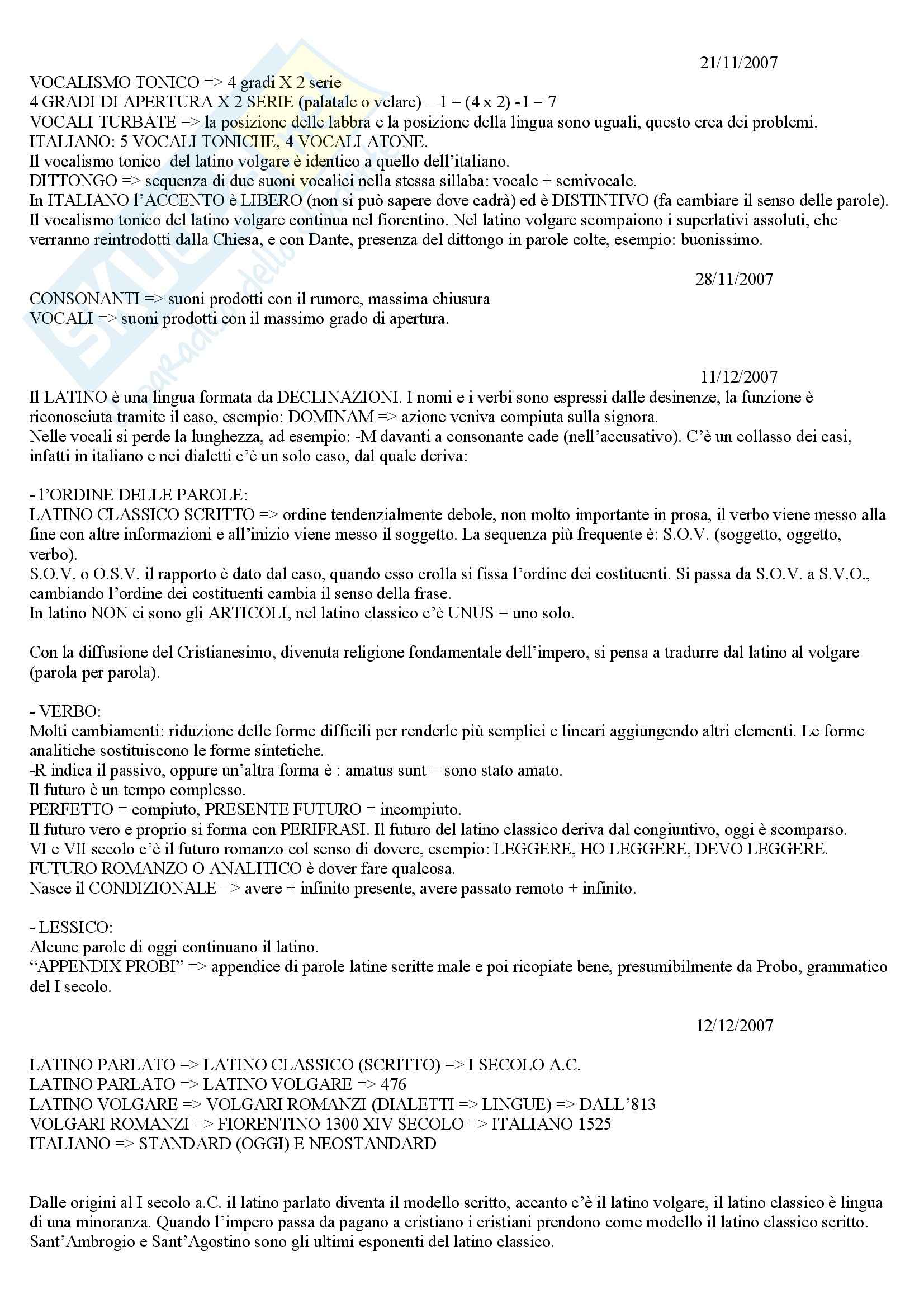 Introduzione alla dialettologia e sociolinguistica italiana Pag. 6