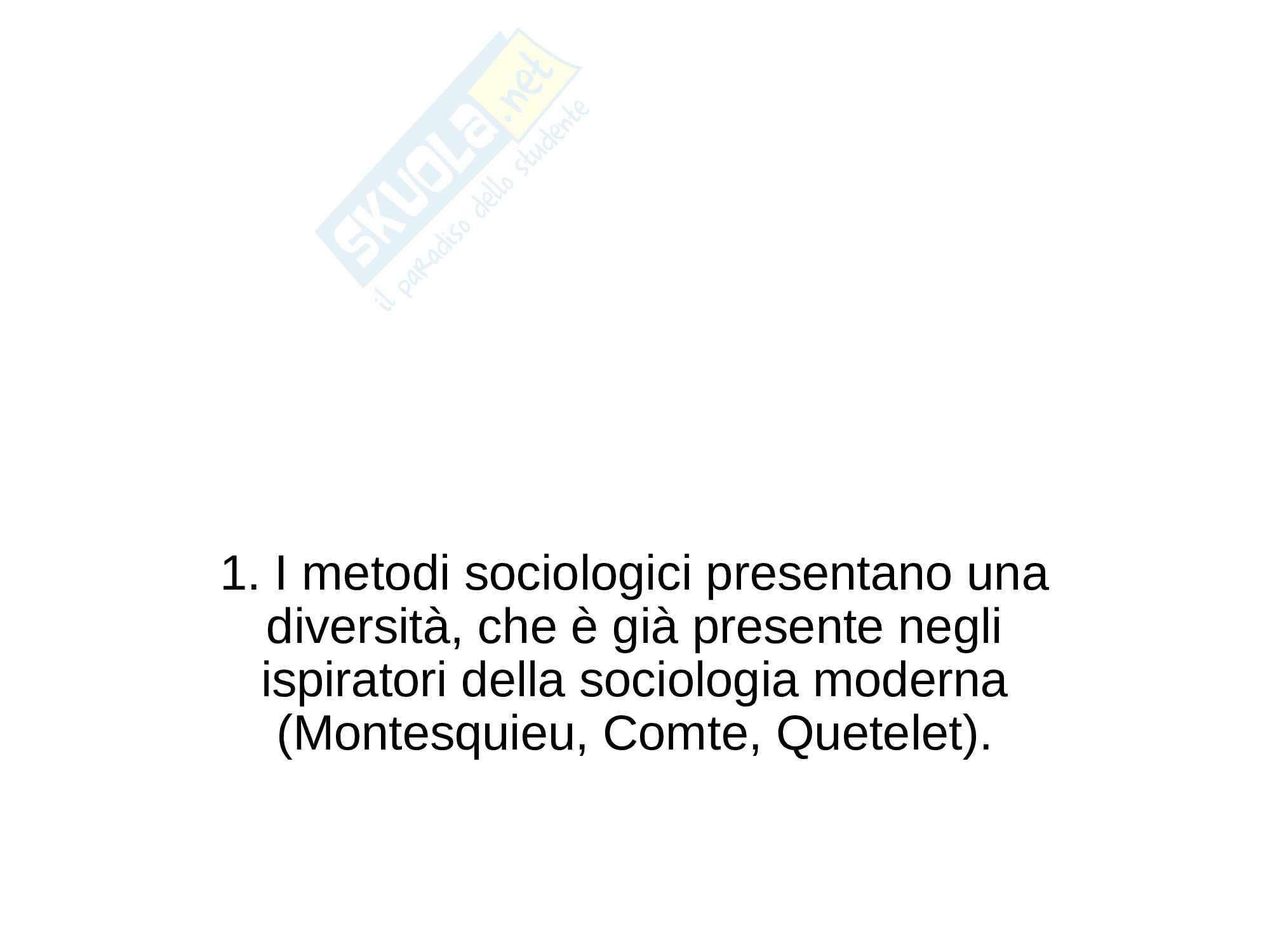Riassunto esame Metodologia della ricerca sociale, prof. Selvaggio, libro consigliato Metodologia della ricerca sociologica, Boudon Pag. 1
