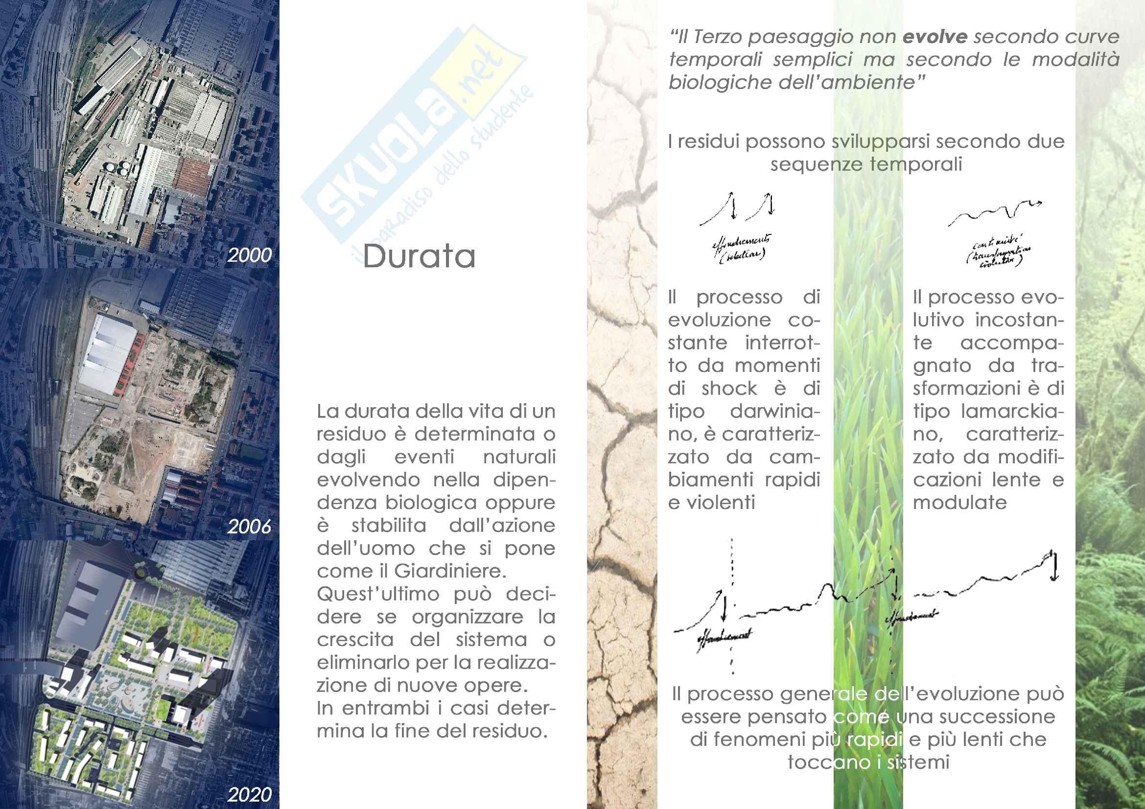 Presentazione power point sul concetto di terzo paesaggio di Gilles Clement Pag. 11