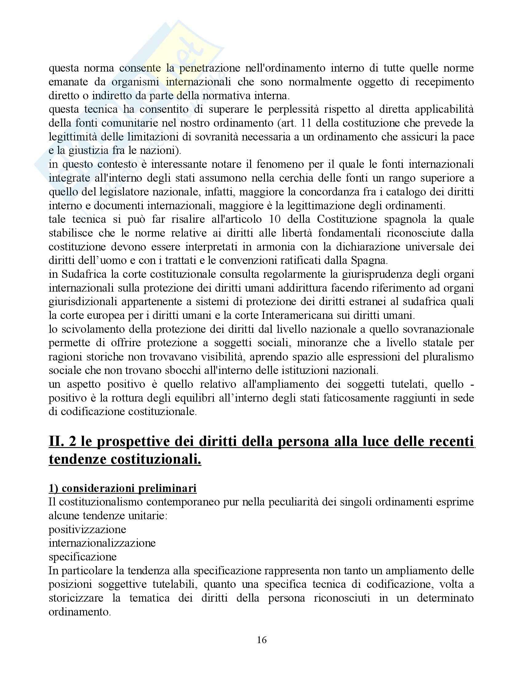 Riassunto esame Diritto Pubblico Comparato, prof. Rolla, libro consigliato Scritti di Diritto Costituzionale Comparato Pag. 16