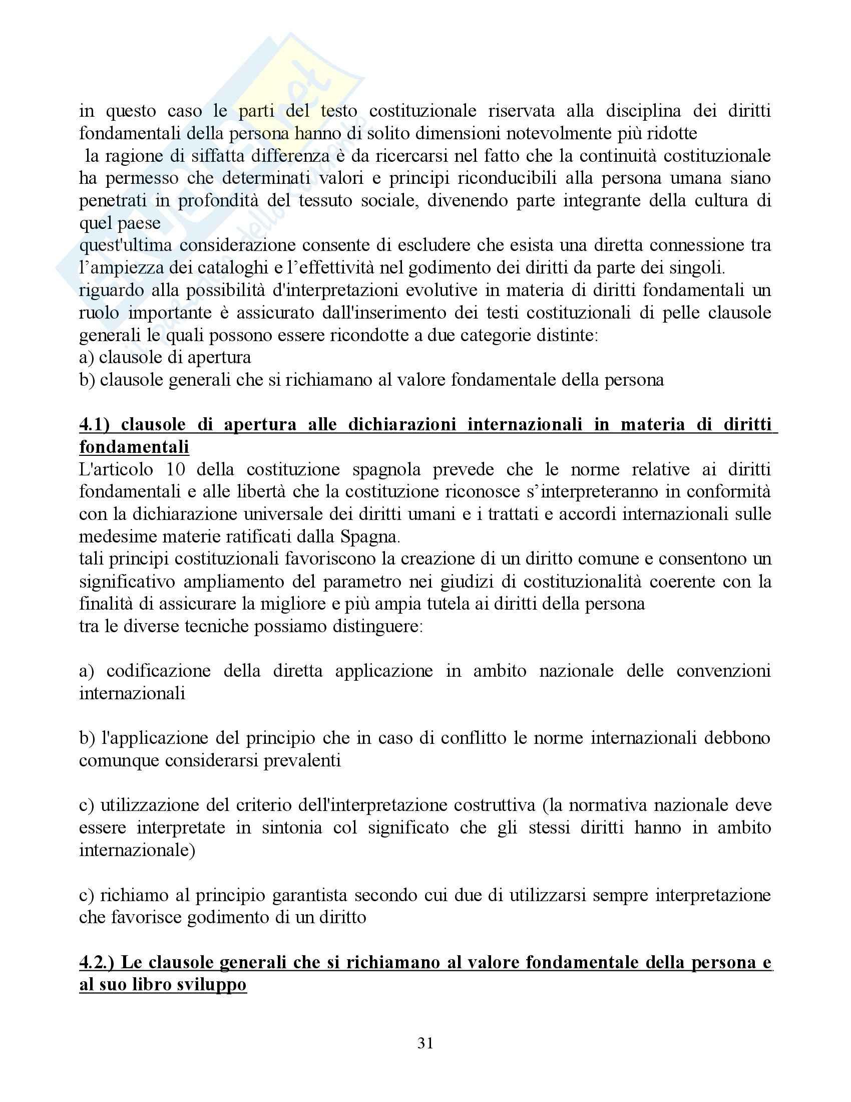 Riassunto esame Diritto Pubblico Comparato, prof. Rolla, libro consigliato Scritti di Diritto Costituzionale Comparato Pag. 31