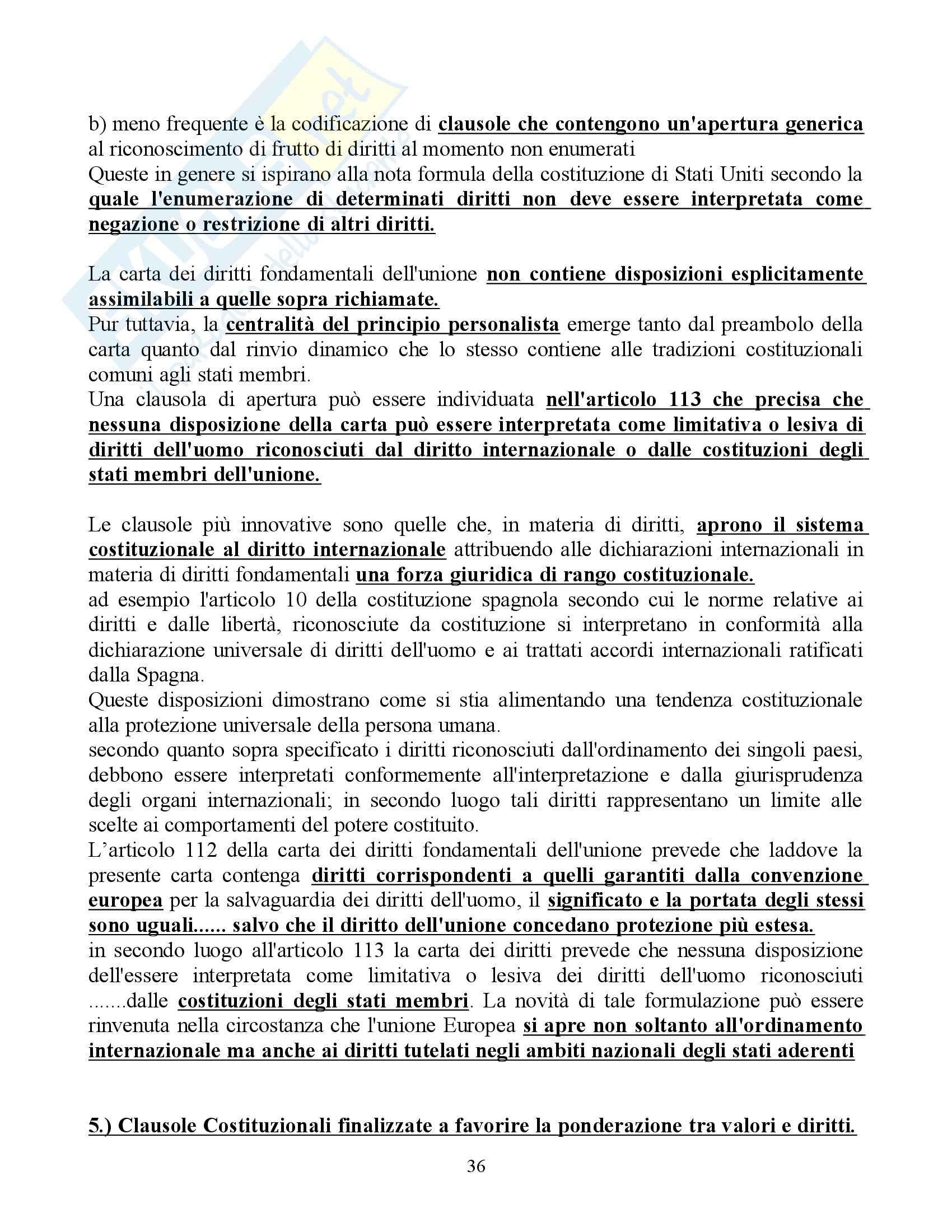 Riassunto esame Diritto Pubblico Comparato, prof. Rolla, libro consigliato Scritti di Diritto Costituzionale Comparato Pag. 36