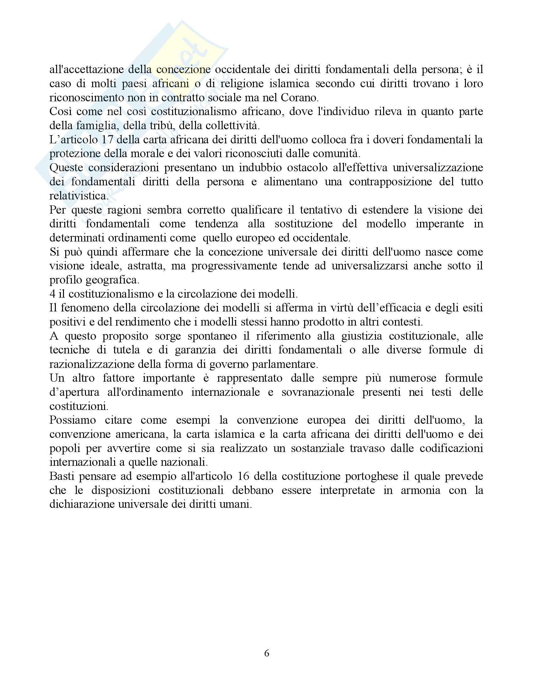 Riassunto esame Diritto Pubblico Comparato, prof. Rolla, libro consigliato Scritti di Diritto Costituzionale Comparato Pag. 6