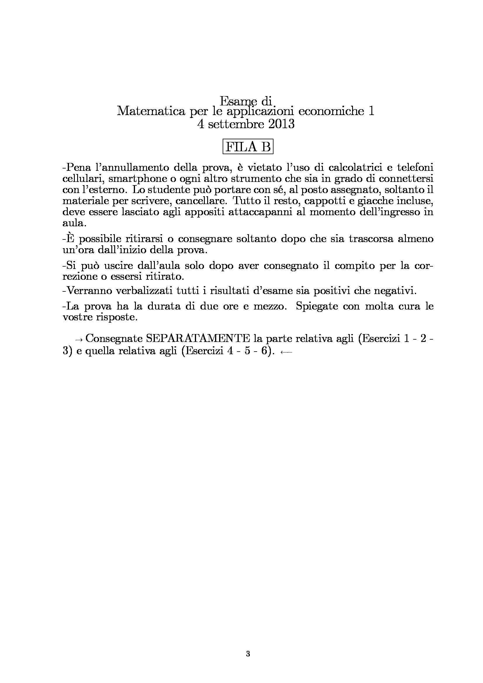 Matematica per le applicazioni economiche - esercizi Pag. 41