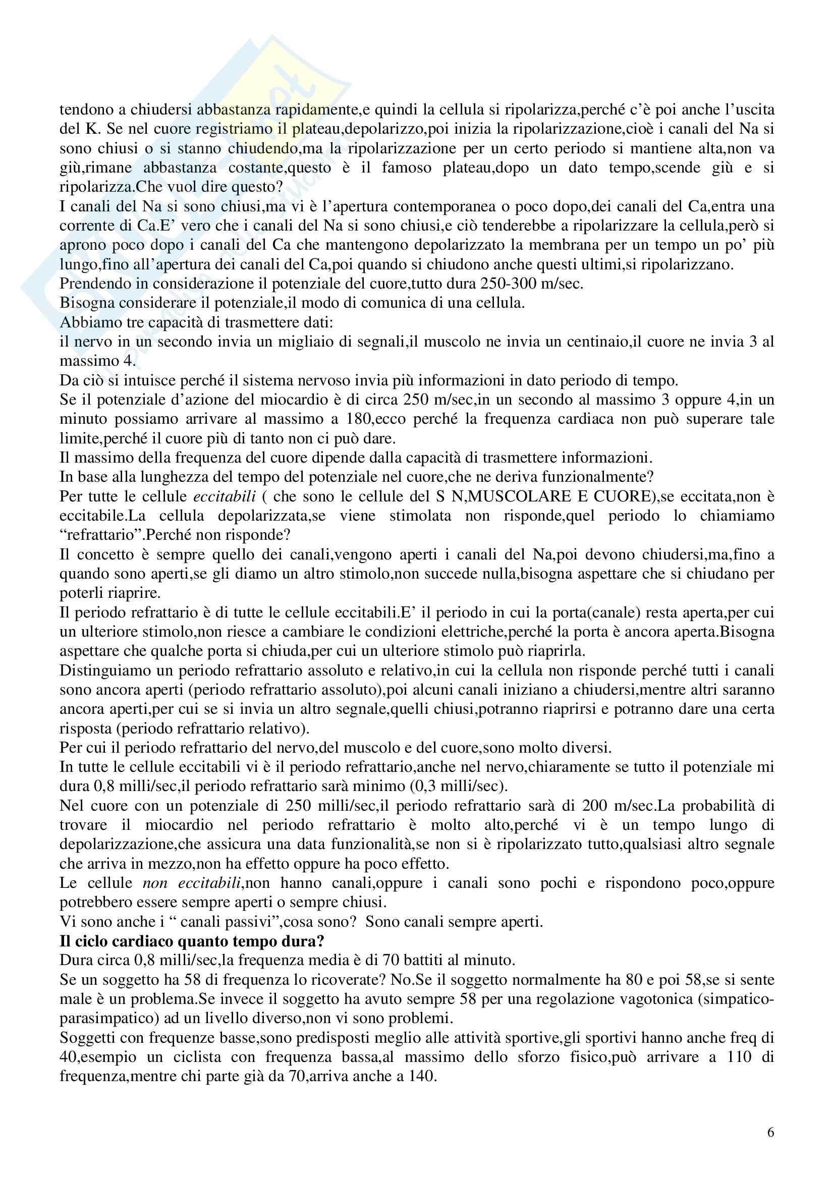 Fisiologia e biofisica - regolazione idrico-salina (seconda parte) Pag. 6