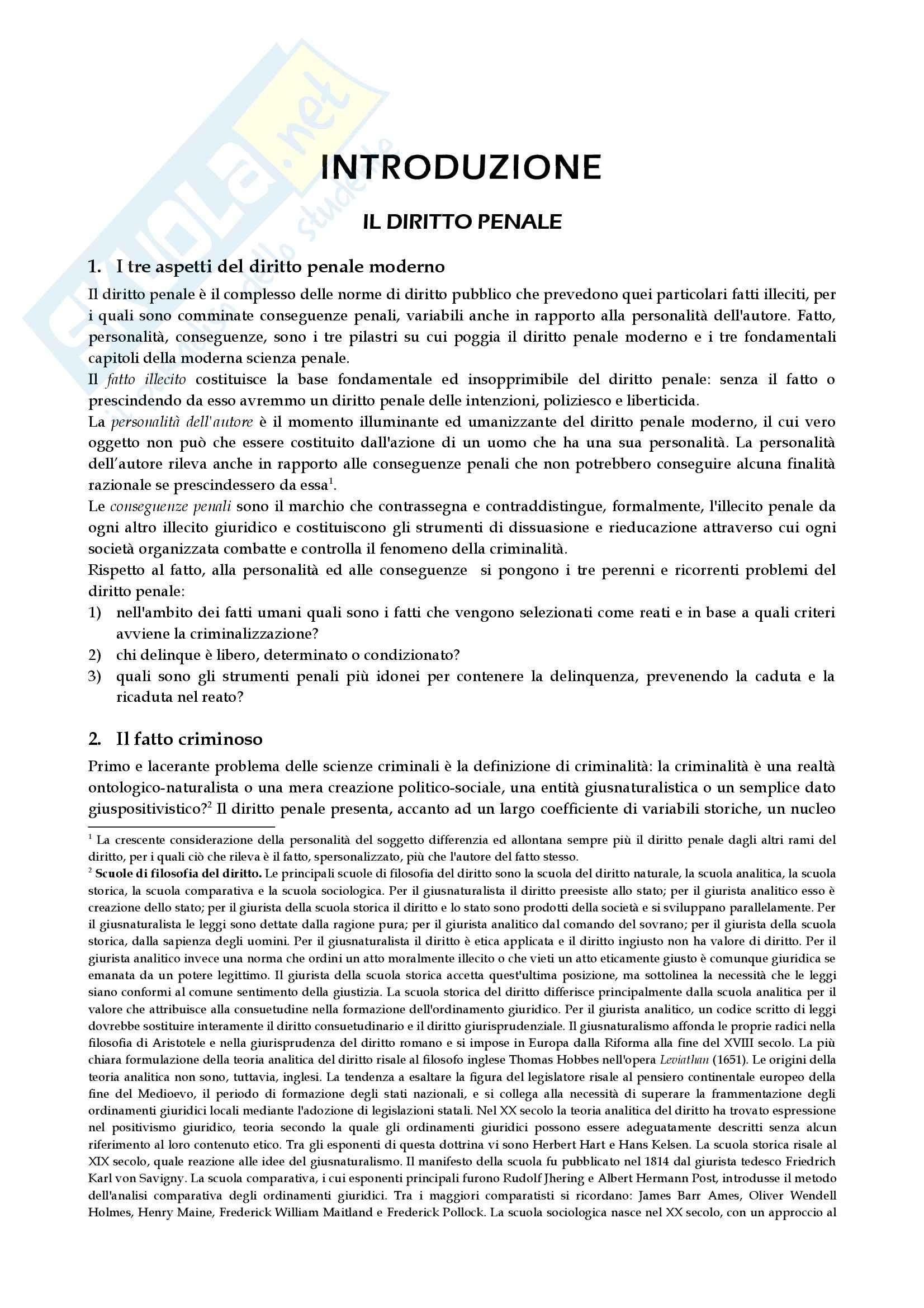 Diritto penale - Appunti