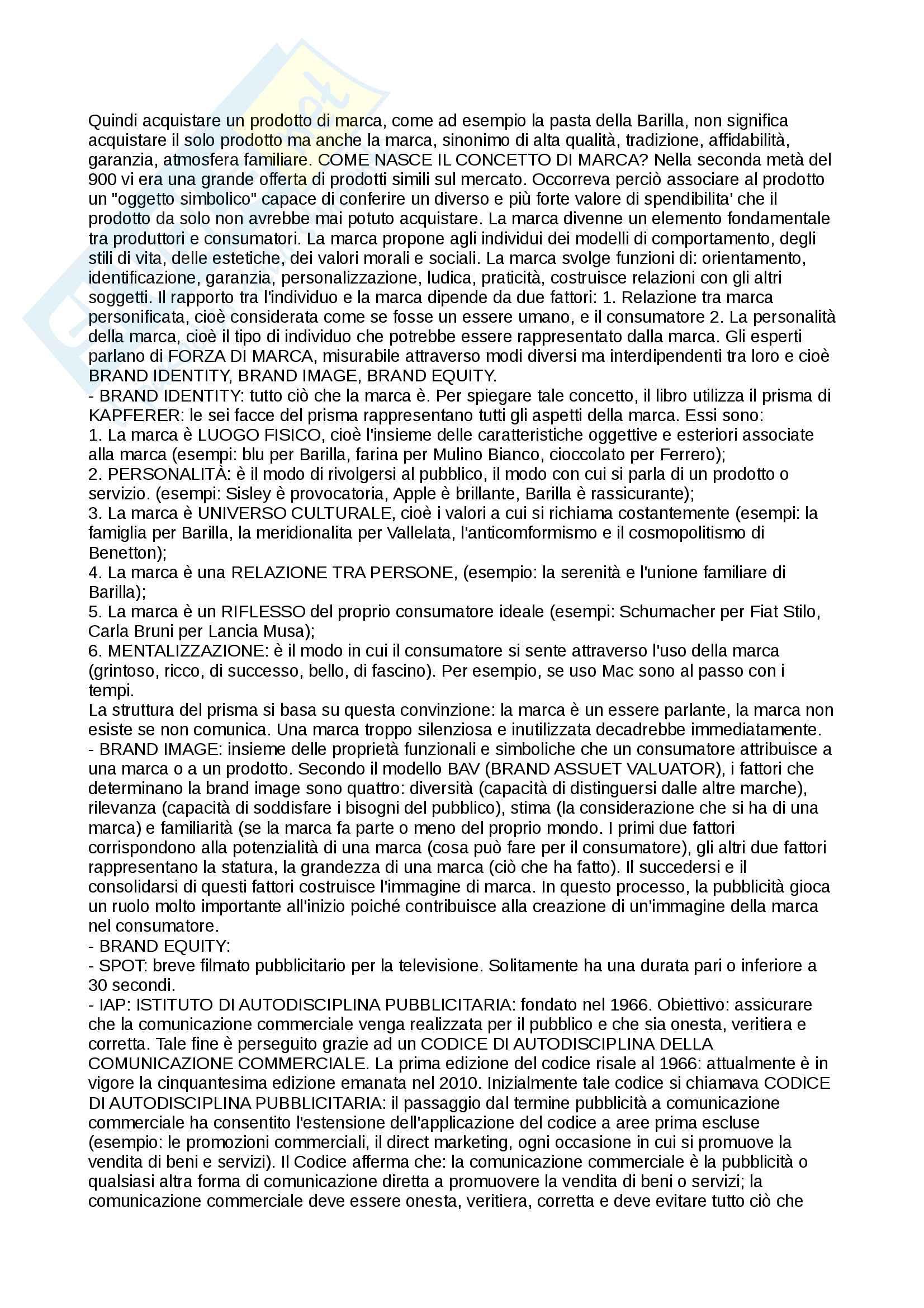 Riassunti esame Teorie della comunicazione, prof. Silvano Petrosino, libro consigliato Teorie dell'informazione e della comunicazione. Glossario, 2009, S.Borella, G.Franchin Pag. 26