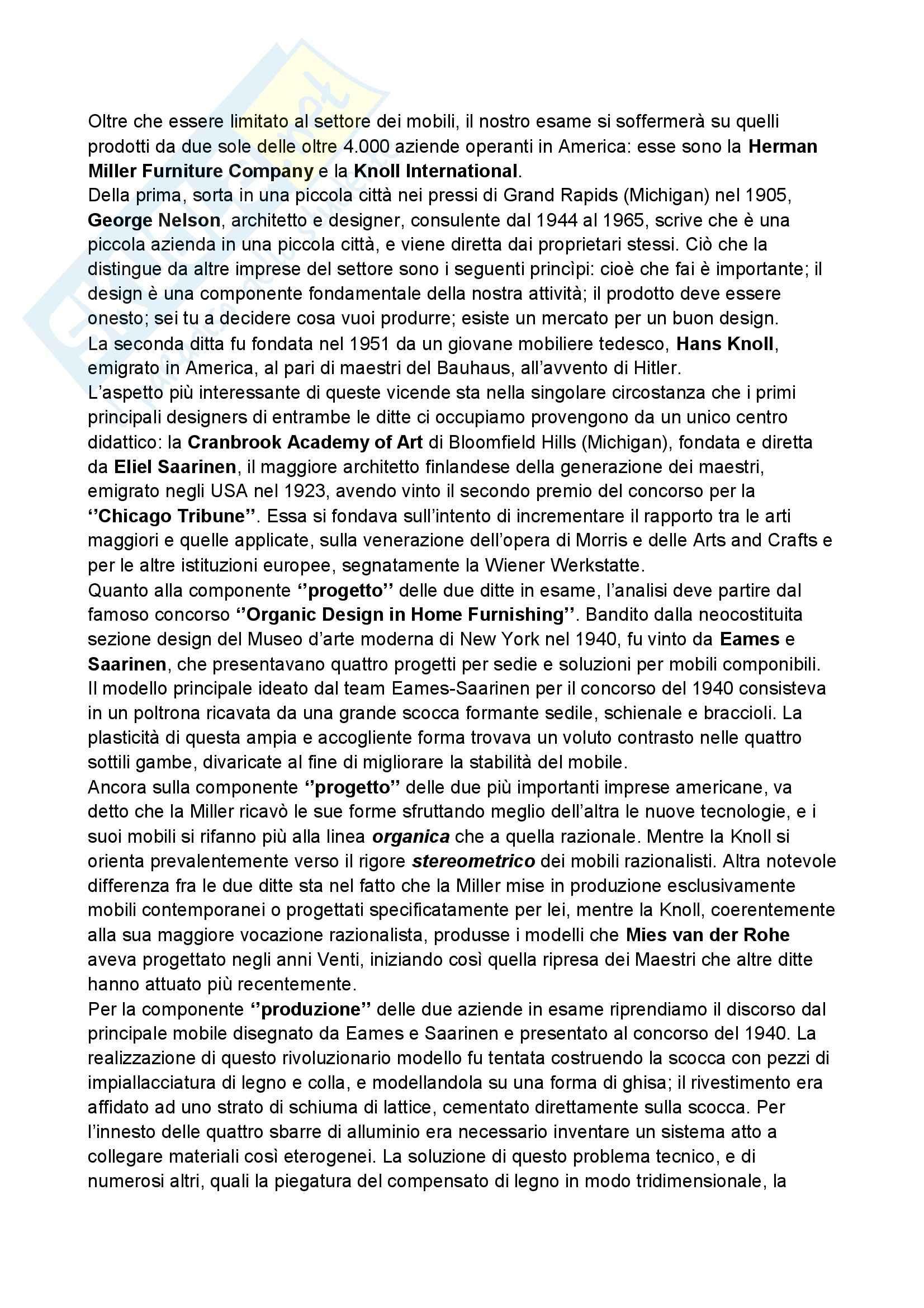 Riassunto esame Storia del design, prof. Ubertazzi, libro consigliato Storia del design, De Fusco Pag. 31